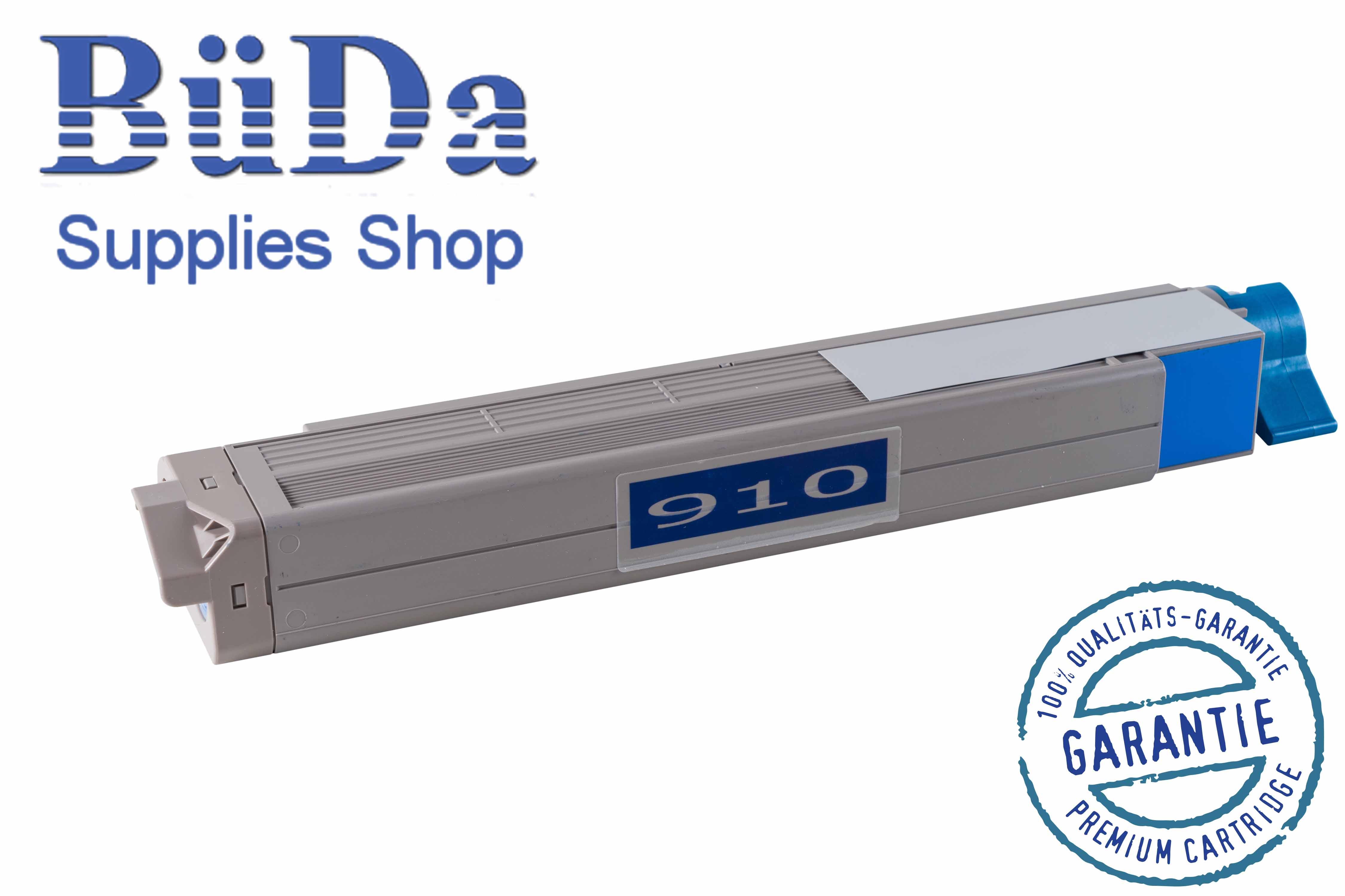 Toner-Modul komp. zu OKI C910 cyan 15000 Seiten