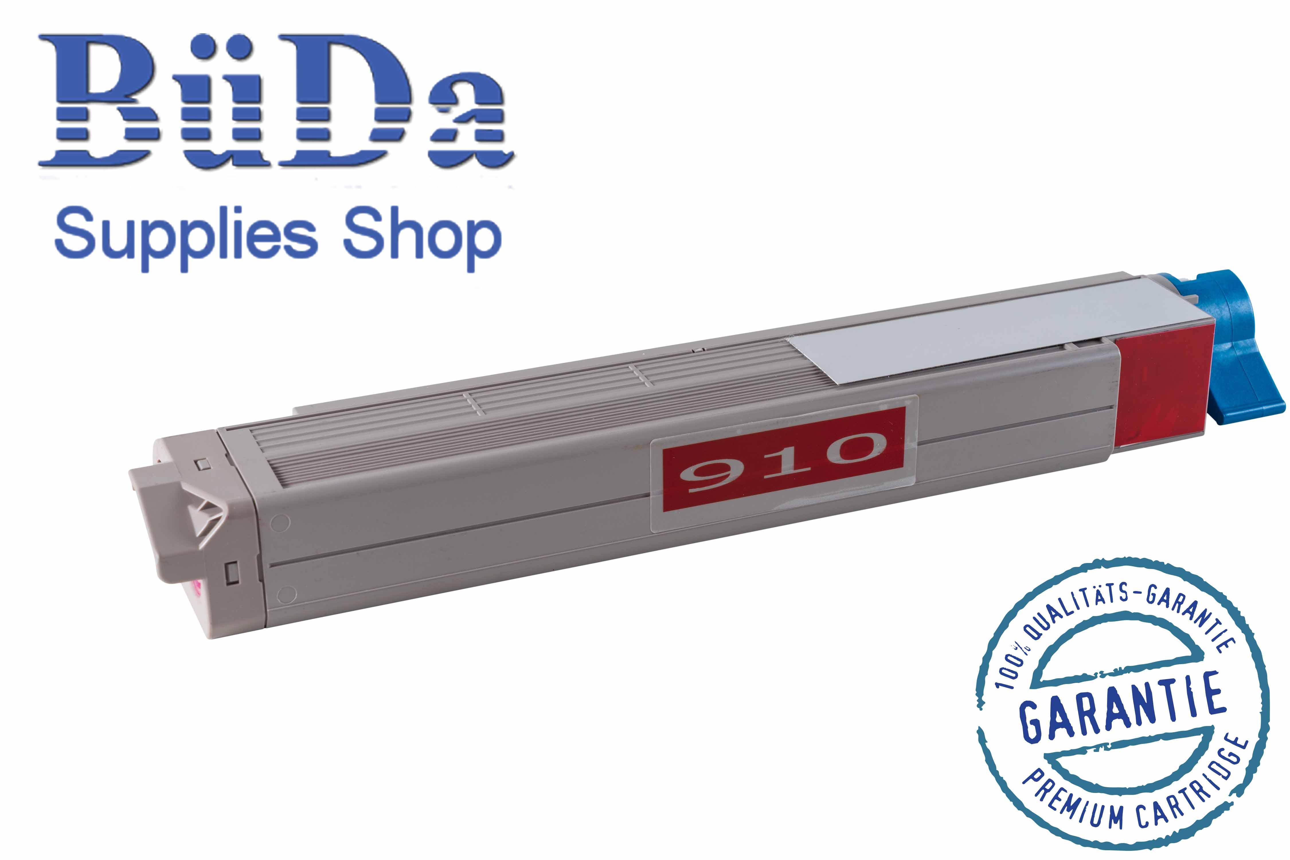 Toner-Modul komp. zu OKI C910 magenta 15000 Seiten
