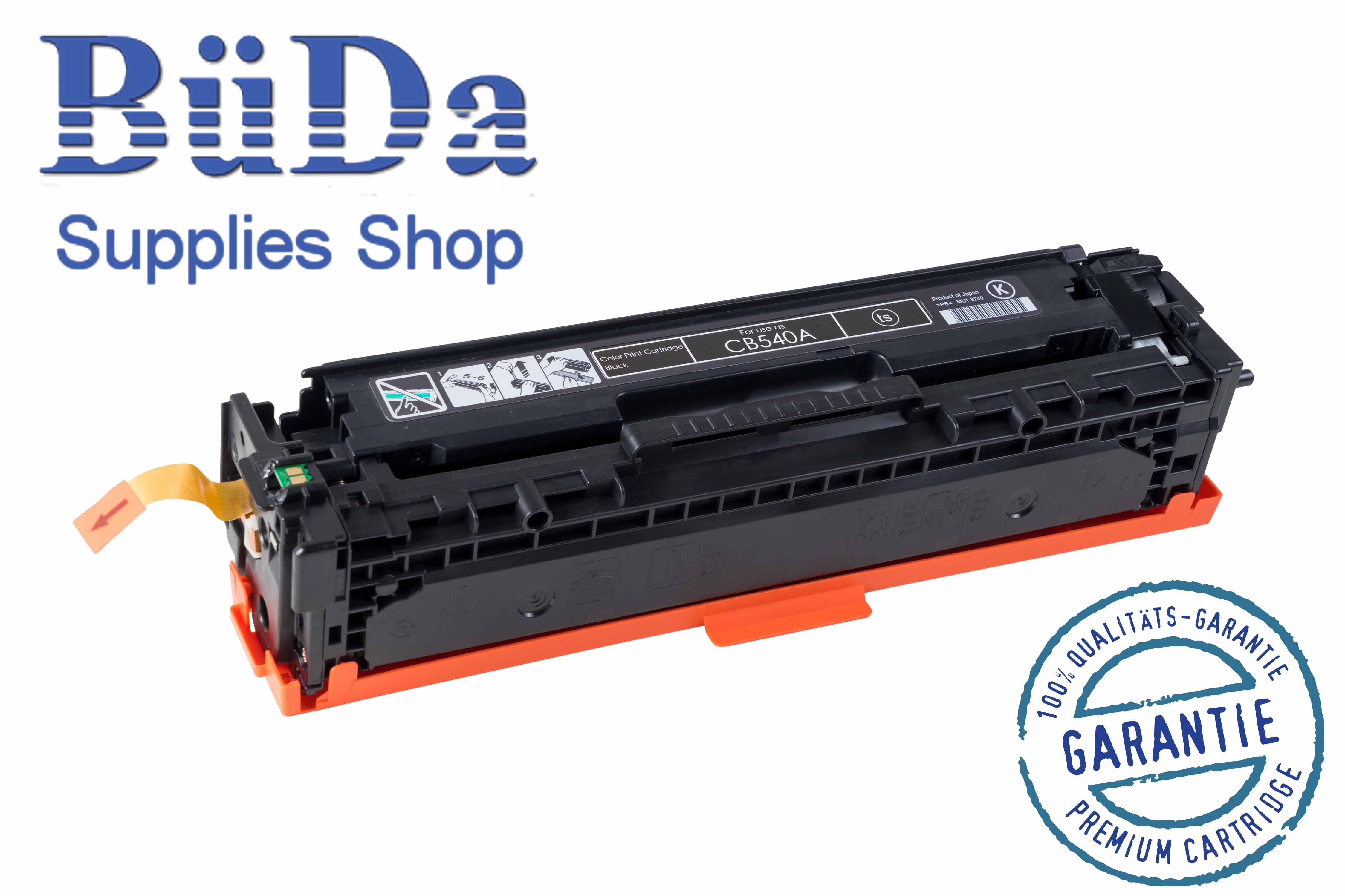 Toner-Modul komp. zu CB540A / Crt. 716B black 2200 Seiten