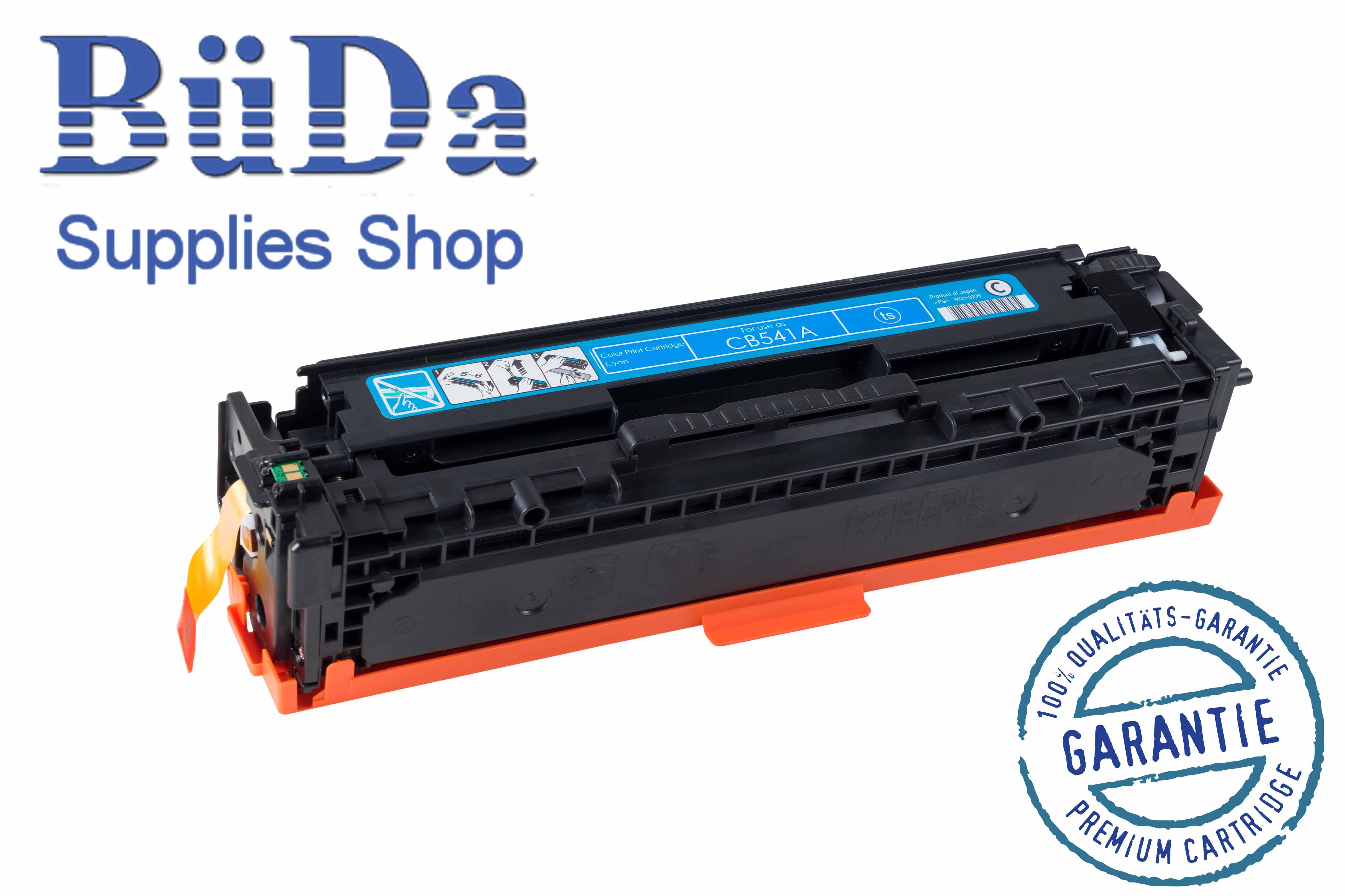 Toner-Modul komp. zu CB541A / Crt. 716C cyan 1400 Seiten