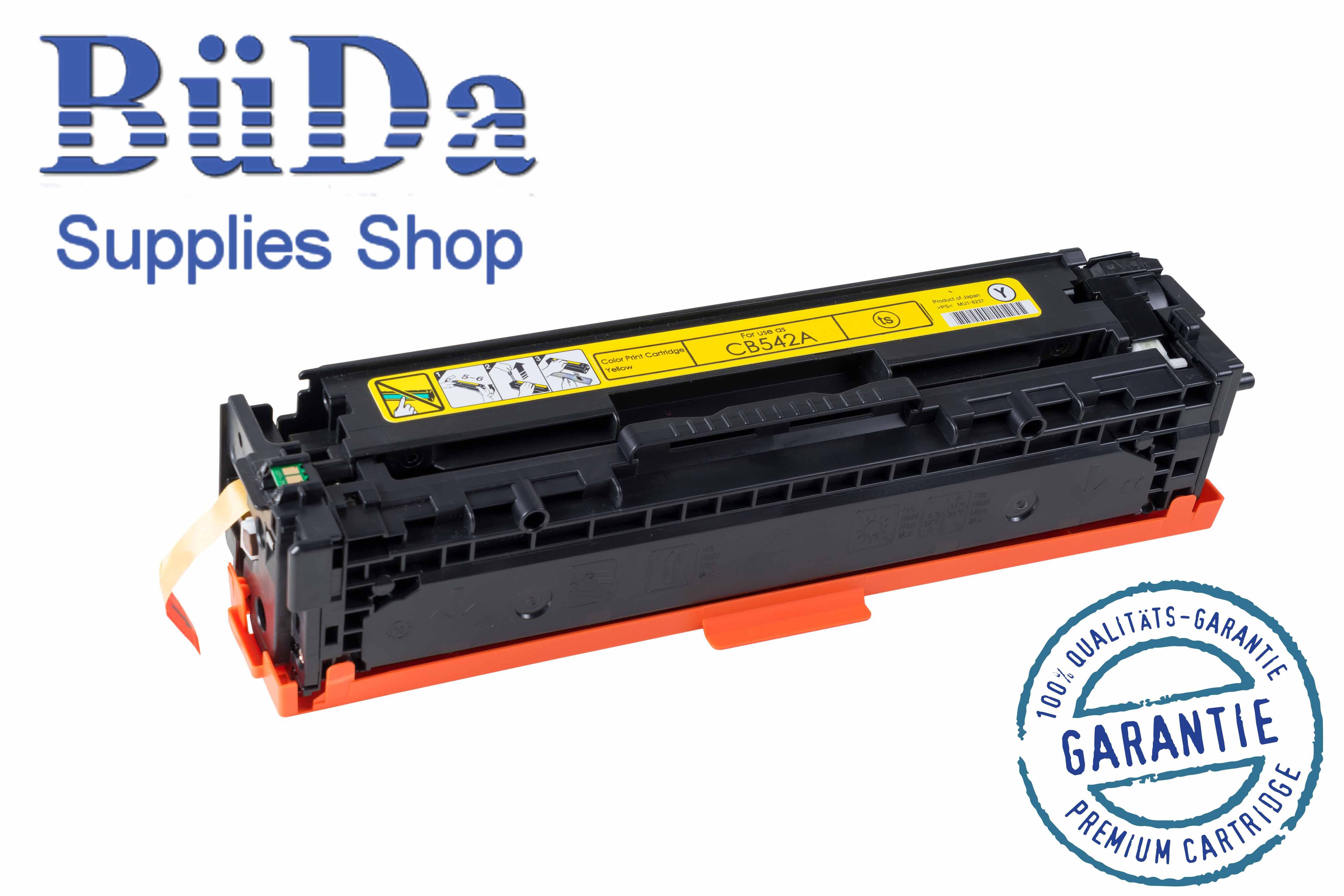 Toner-Modul komp. zu CB542A / Crt. 716Y yellow 1400 Seiten