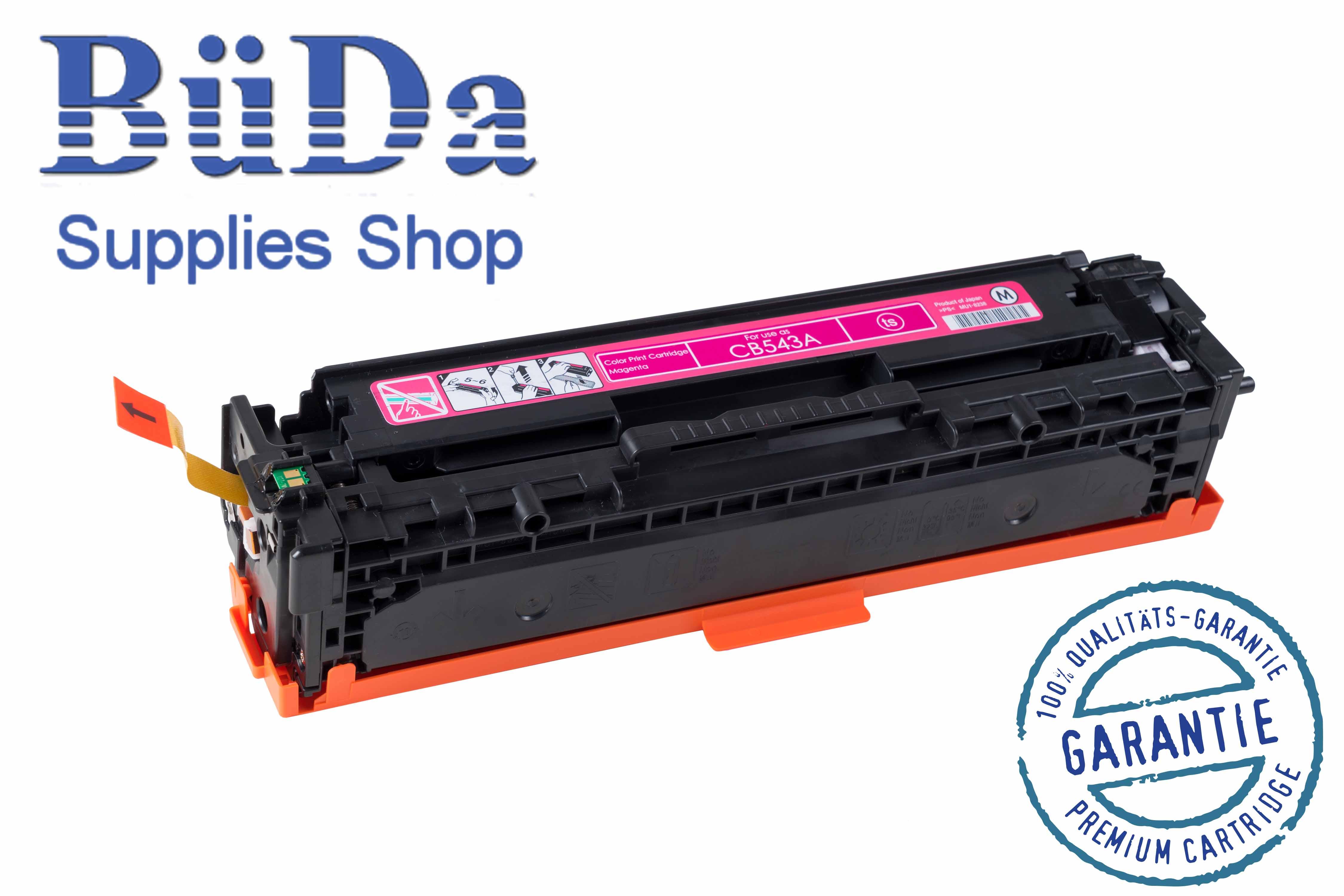 Toner-Modul komp. zu CB543A / Crt. 716M magenta 1400 Seiten