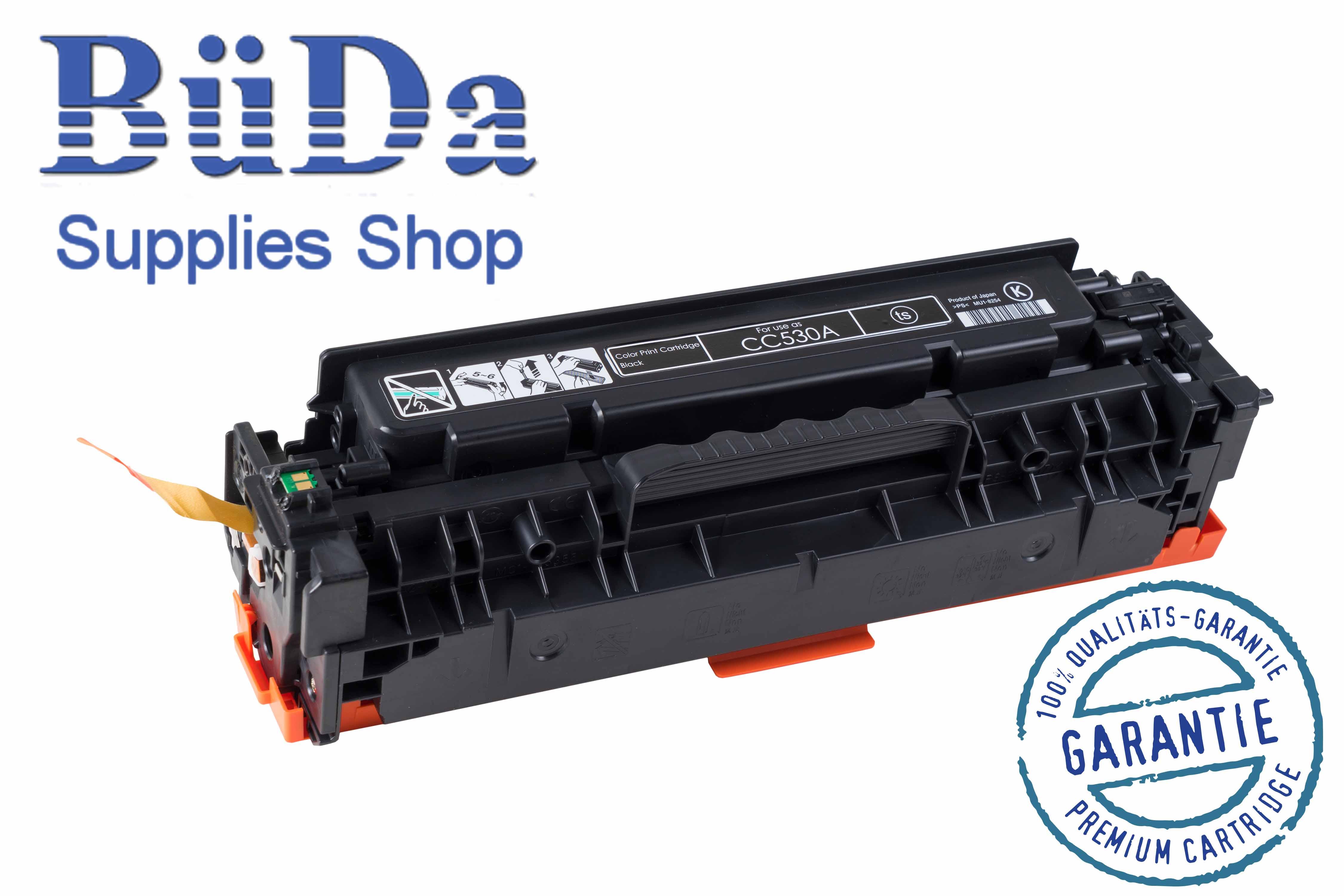 Toner-Modul komp. zu CC530A / Crt. 718B black 3500 Seiten
