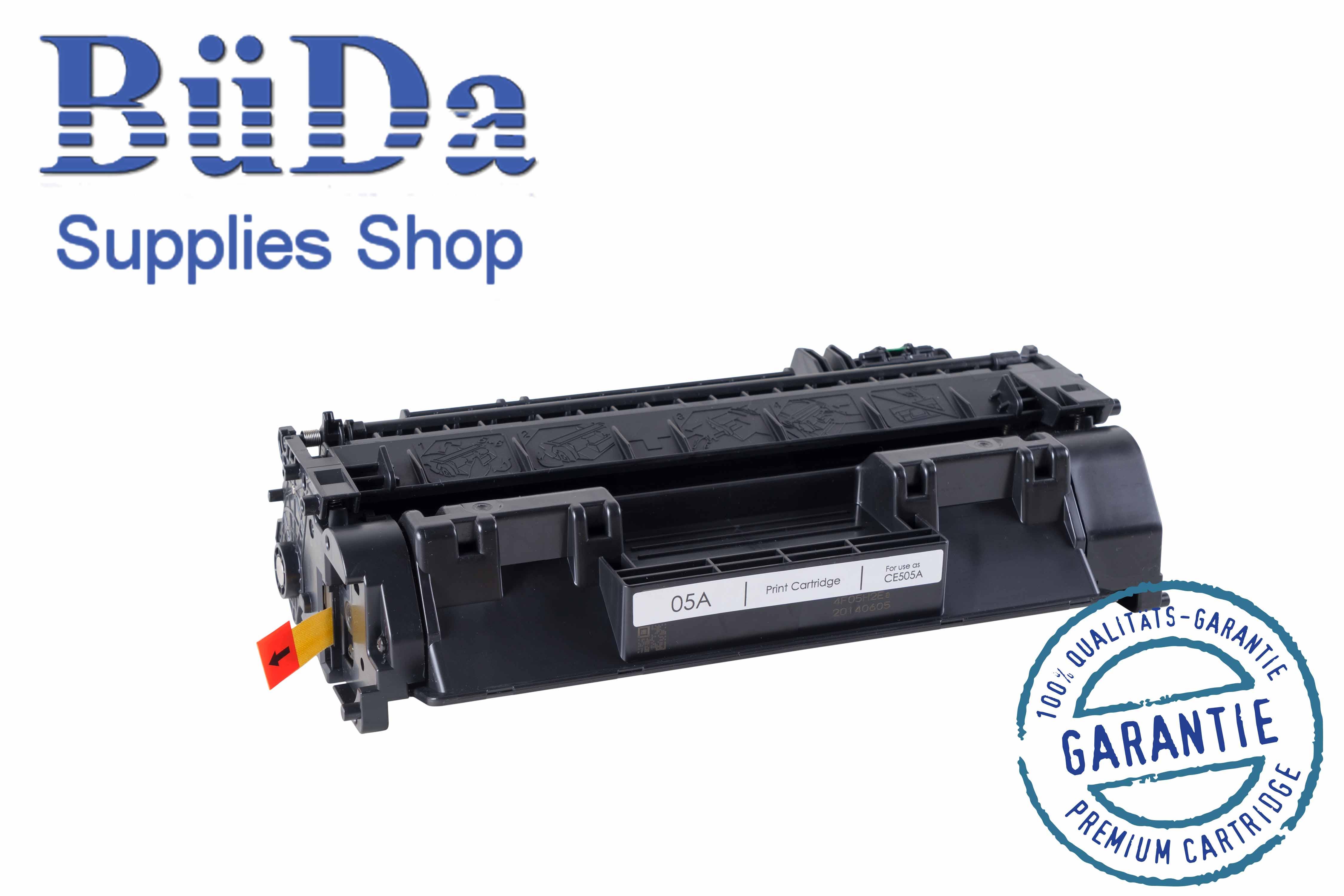 Toner-Modul komp. zu CE505A / Crt. 719 black 2300 Seiten