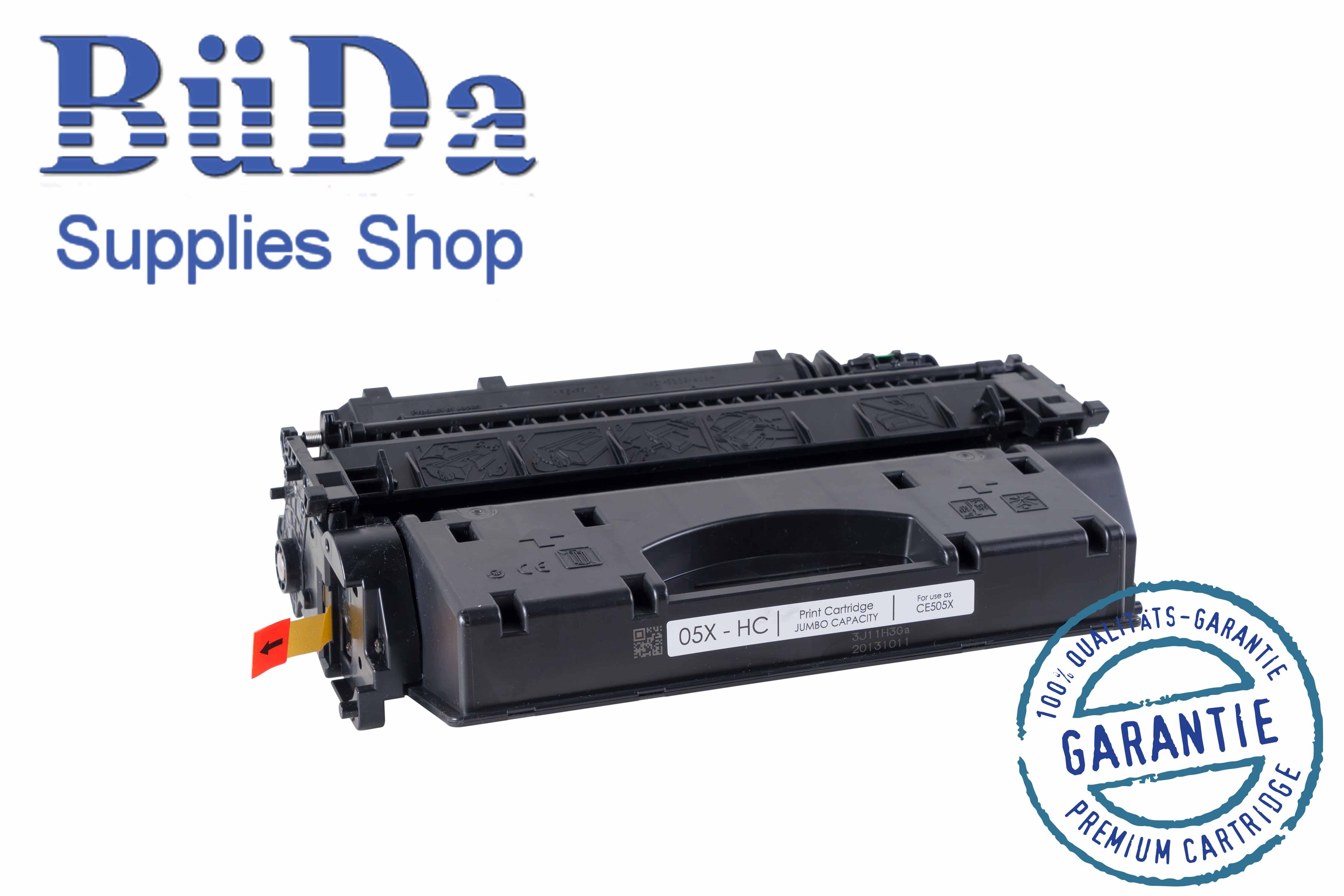 Toner-Modul komp. zu CE505X-HC / Crt. 719H-HC black 13000 Seiten