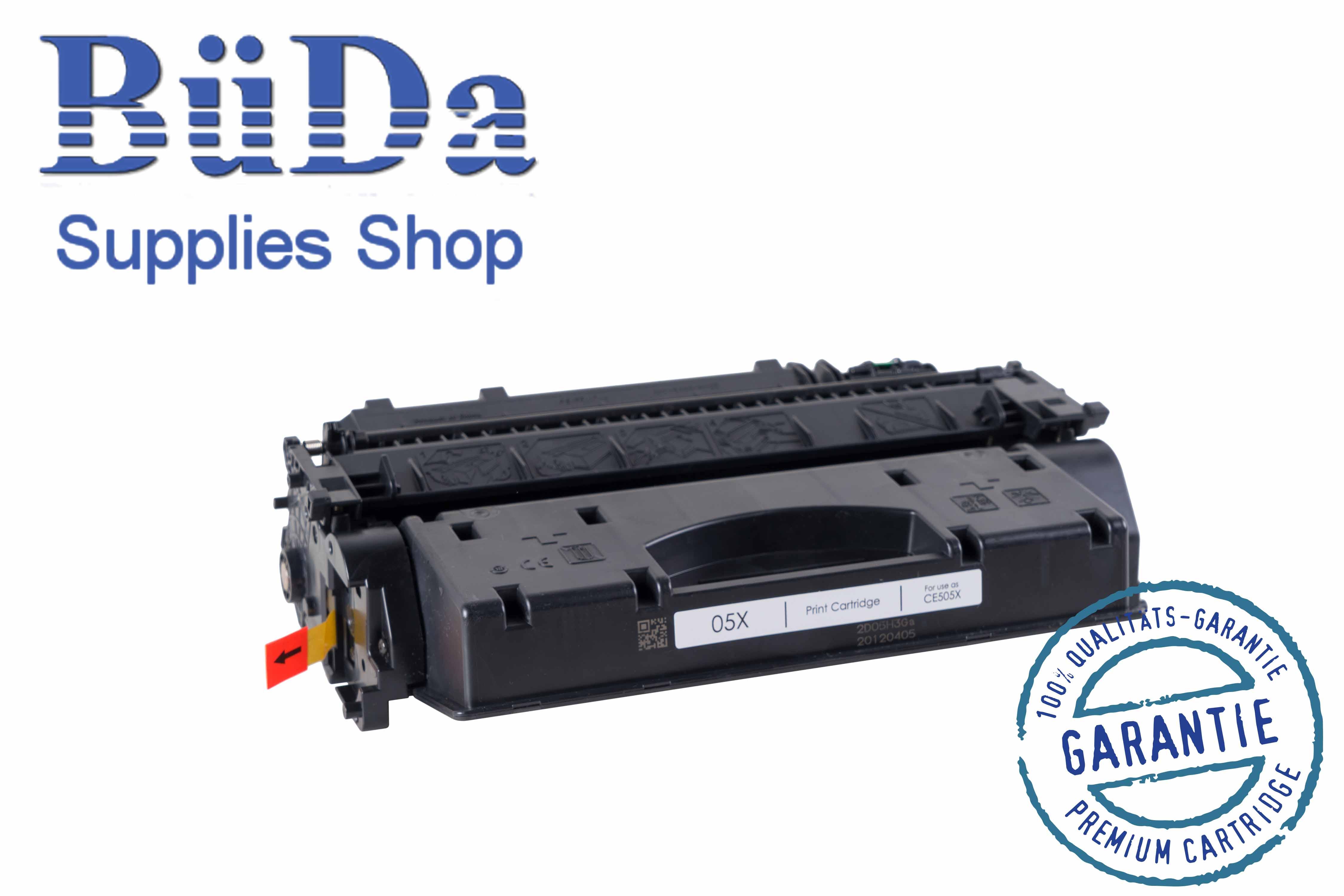 Toner-Modul komp. zu CE505X / Crt. 719H black 6500 Seiten