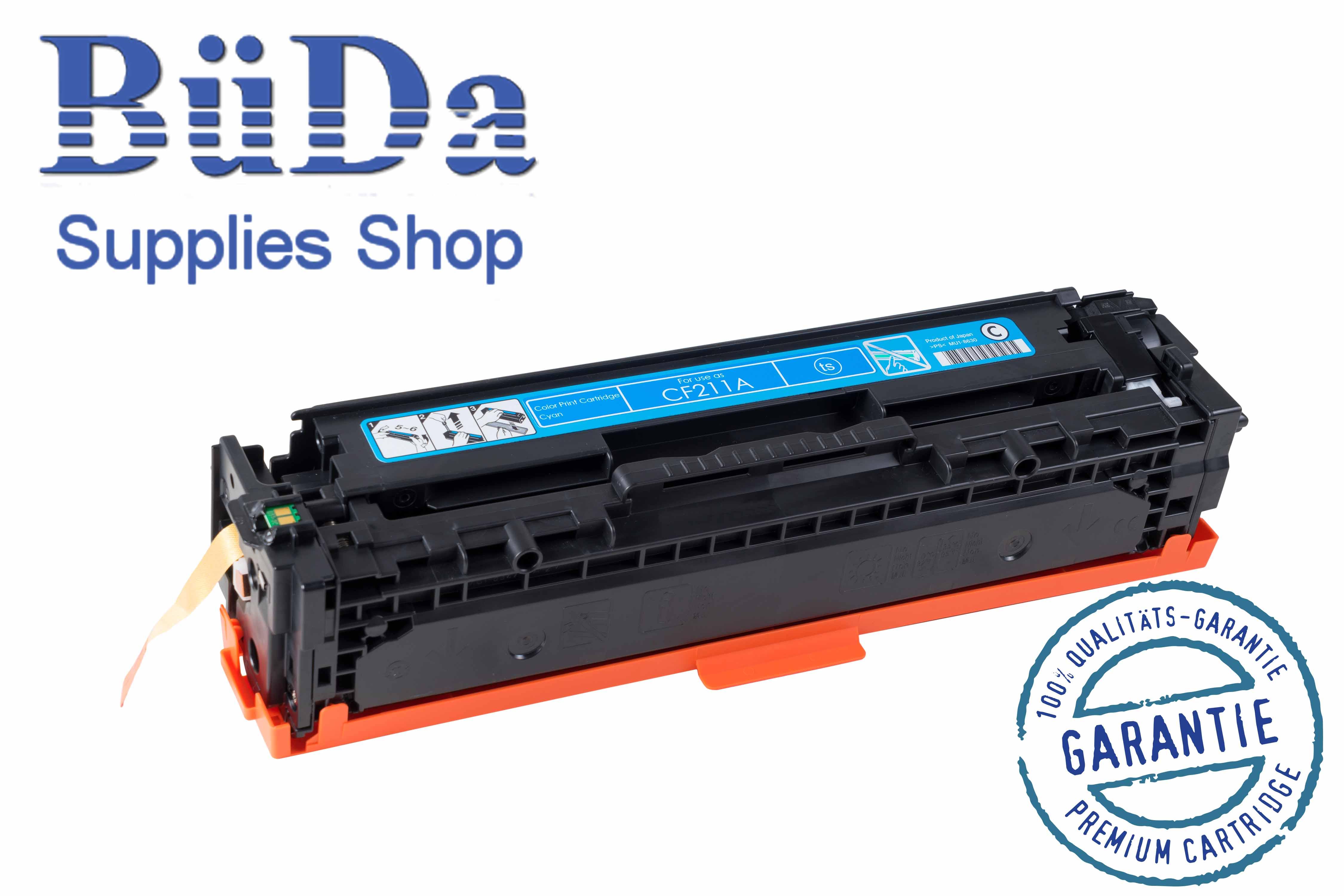 Toner-Modul komp. zu CF211A / CRG 731C cyan 1800 Seiten