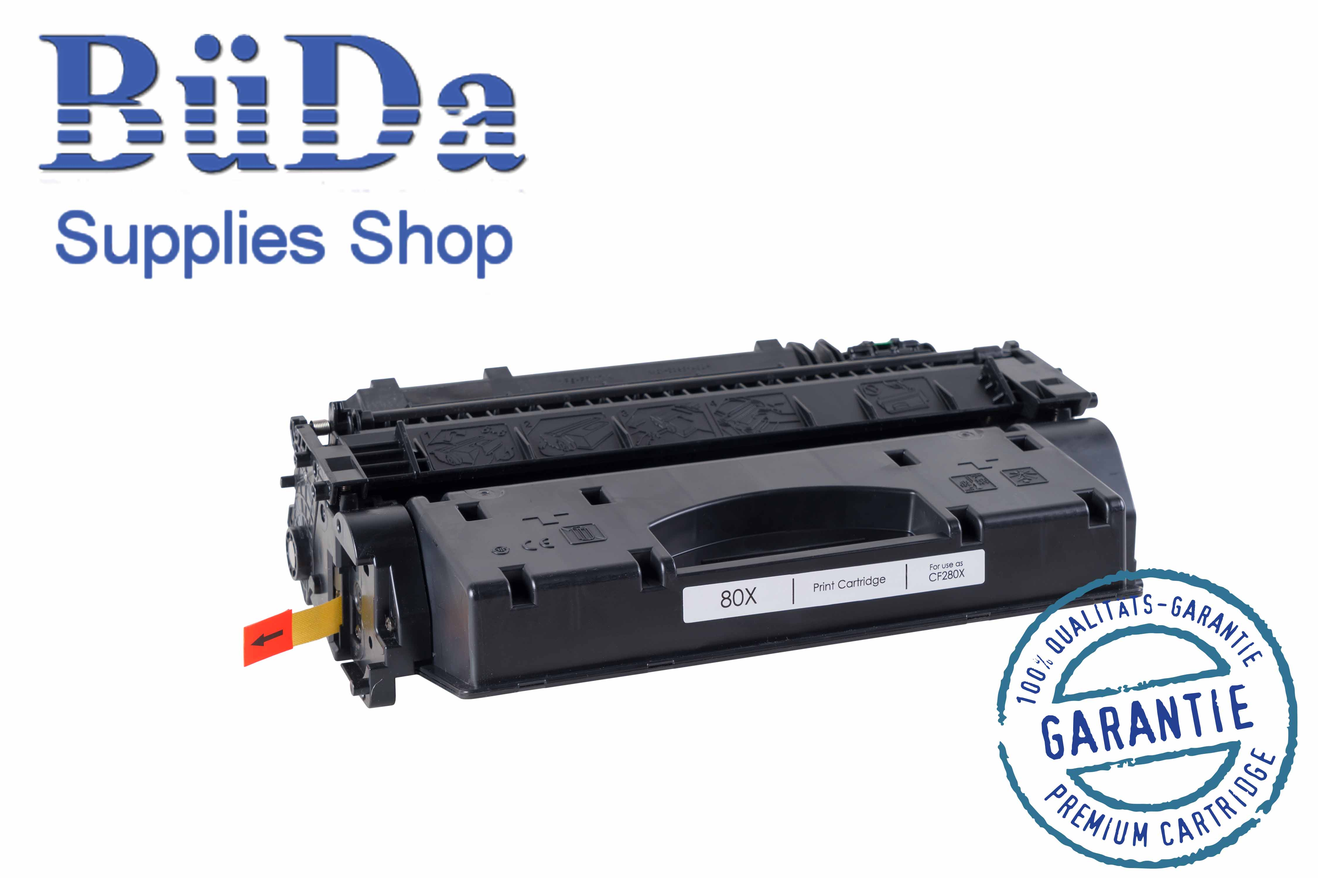 Toner-Modul komp. zu CF280X black 6900 Seiten