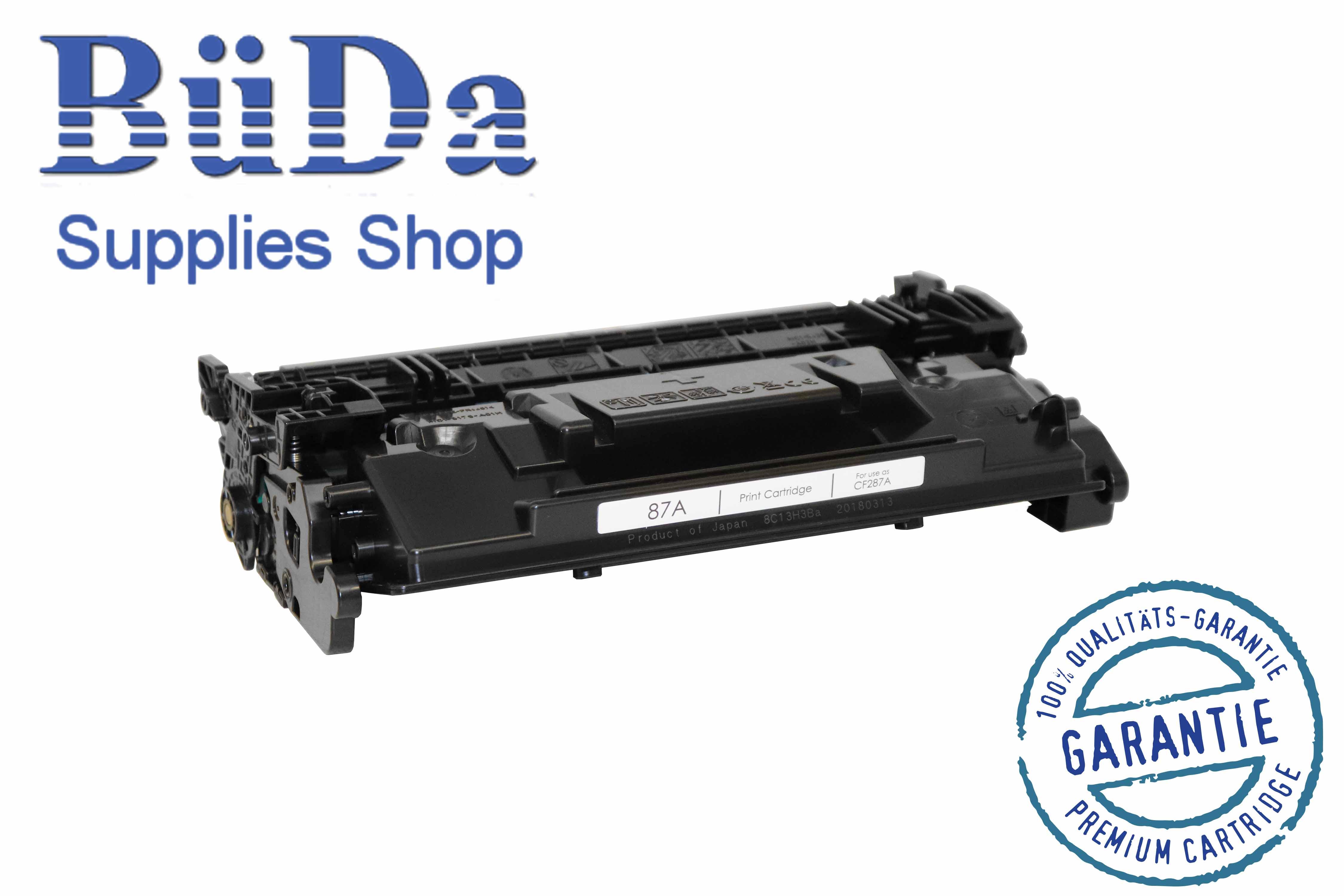 Toner-Modul komp. zu CF287A / CRG 041 black 9000 Seiten