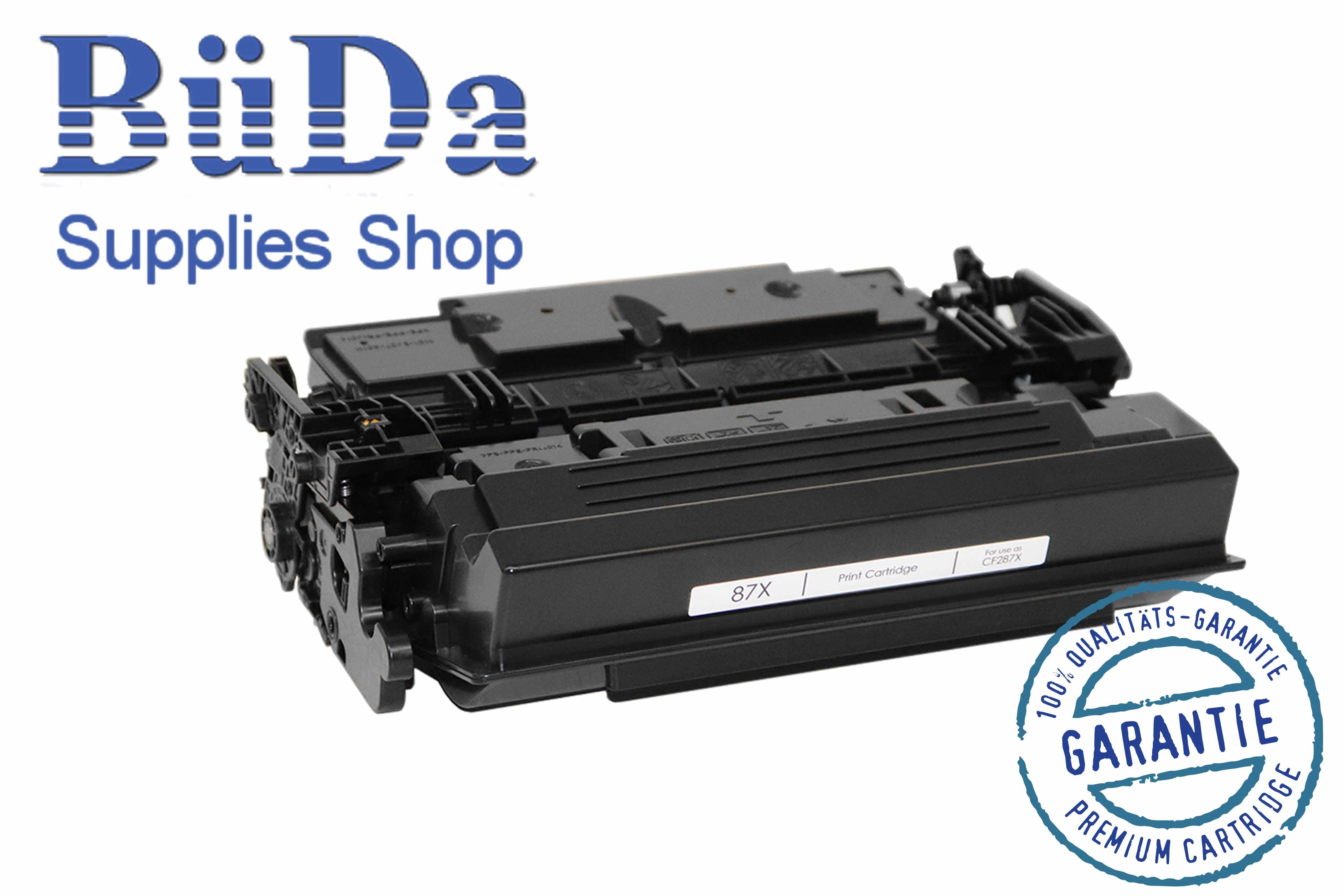 Toner-Modul komp. zu CF287X / CRG 041H black 18000 Seiten