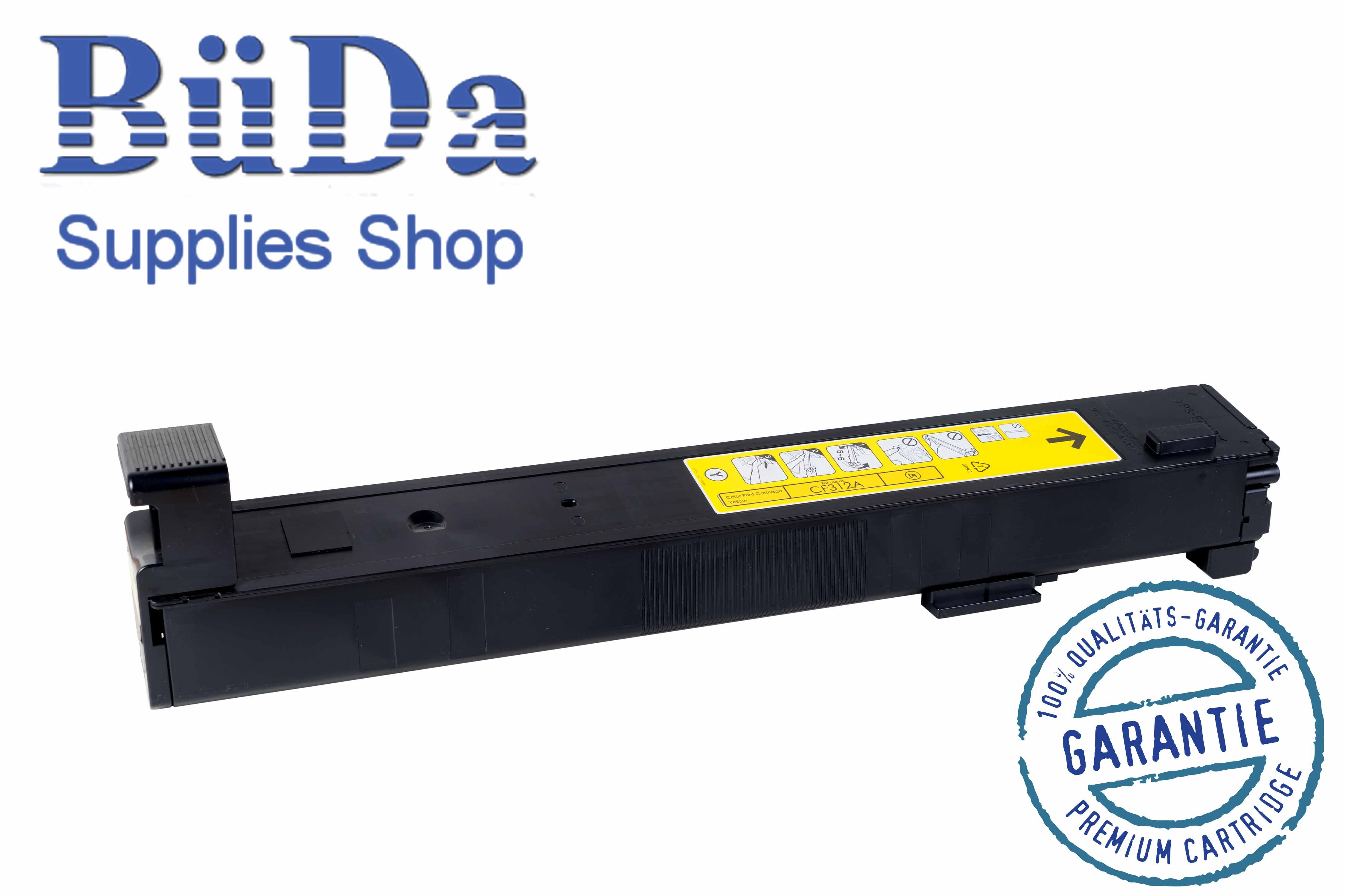 Toner-Modul komp. zu CF312A / 826A yellow 31500 Seiten