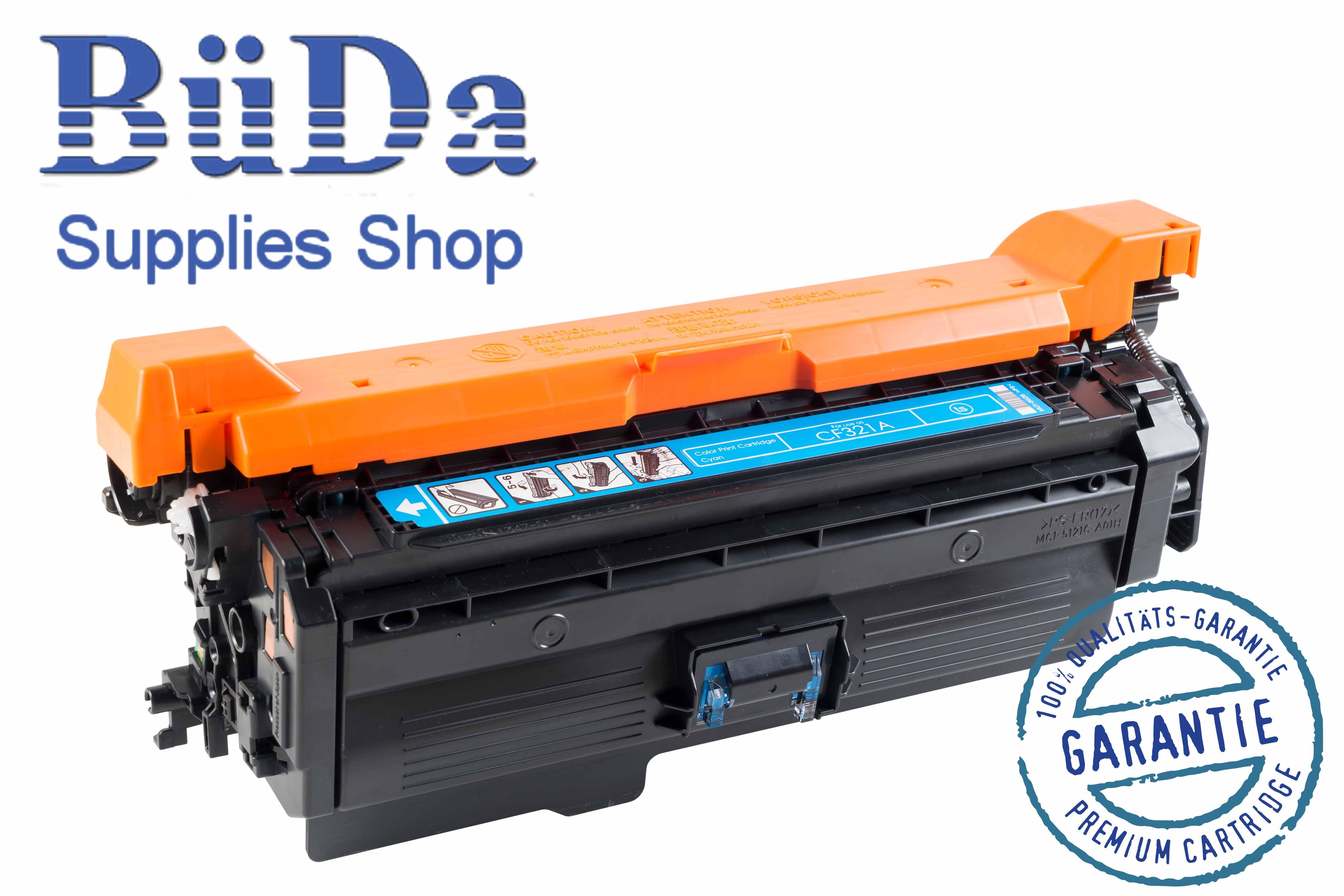 Toner-Modul komp. zu CF321A / 653A cyan 16500 Seiten