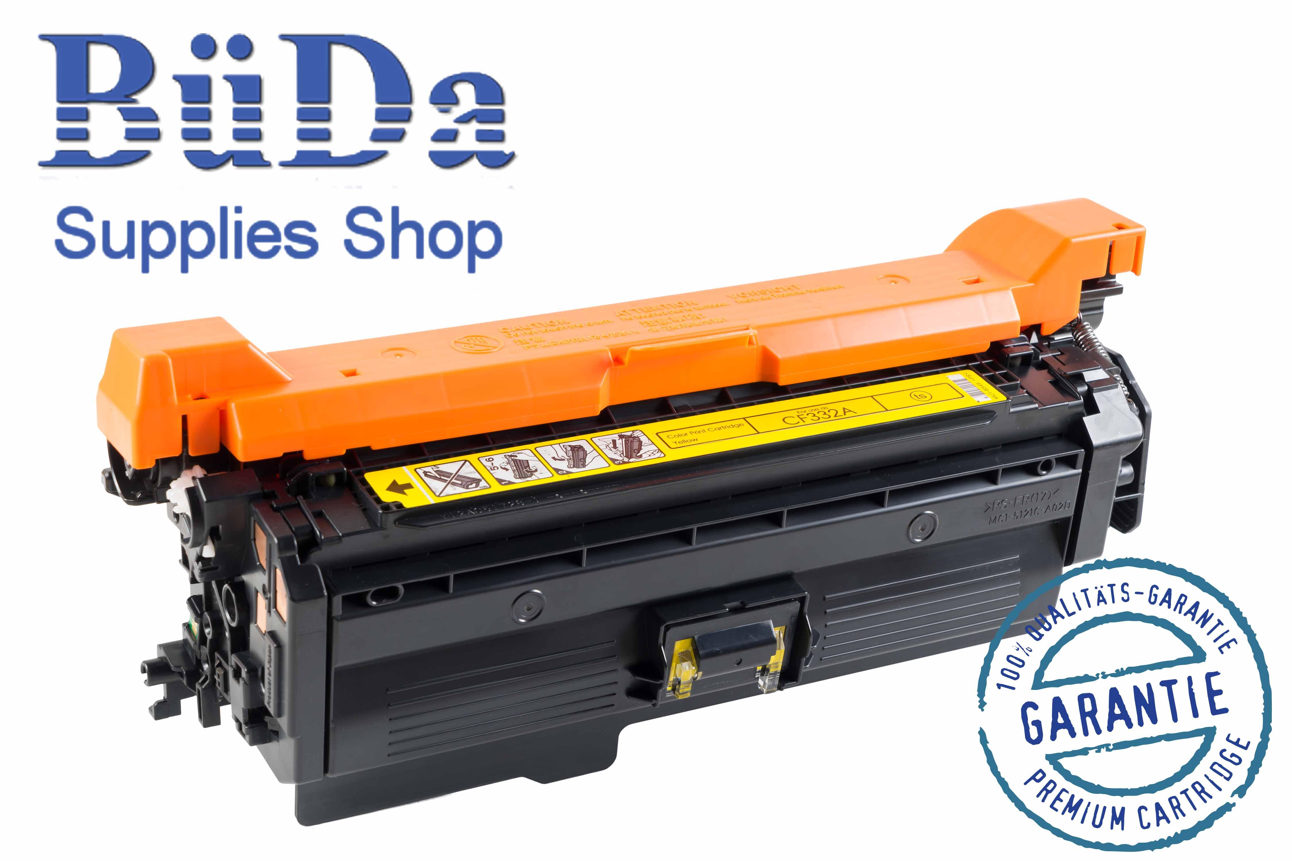 Toner-Modul komp. zu CF332A / 654A yellow 15000 Seiten