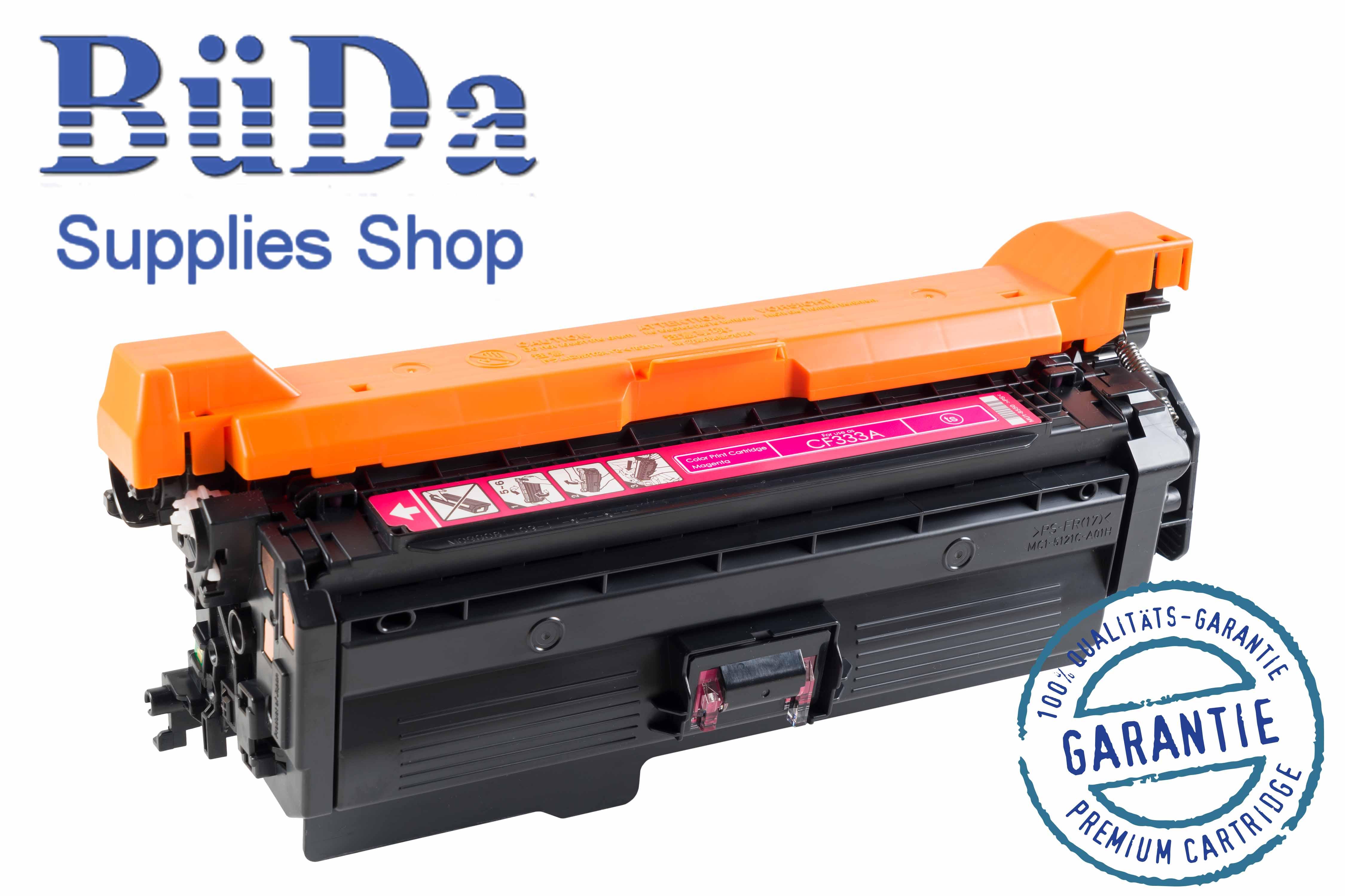 Toner-Modul komp. zu CF333A / 654A magenta 15000 Seiten