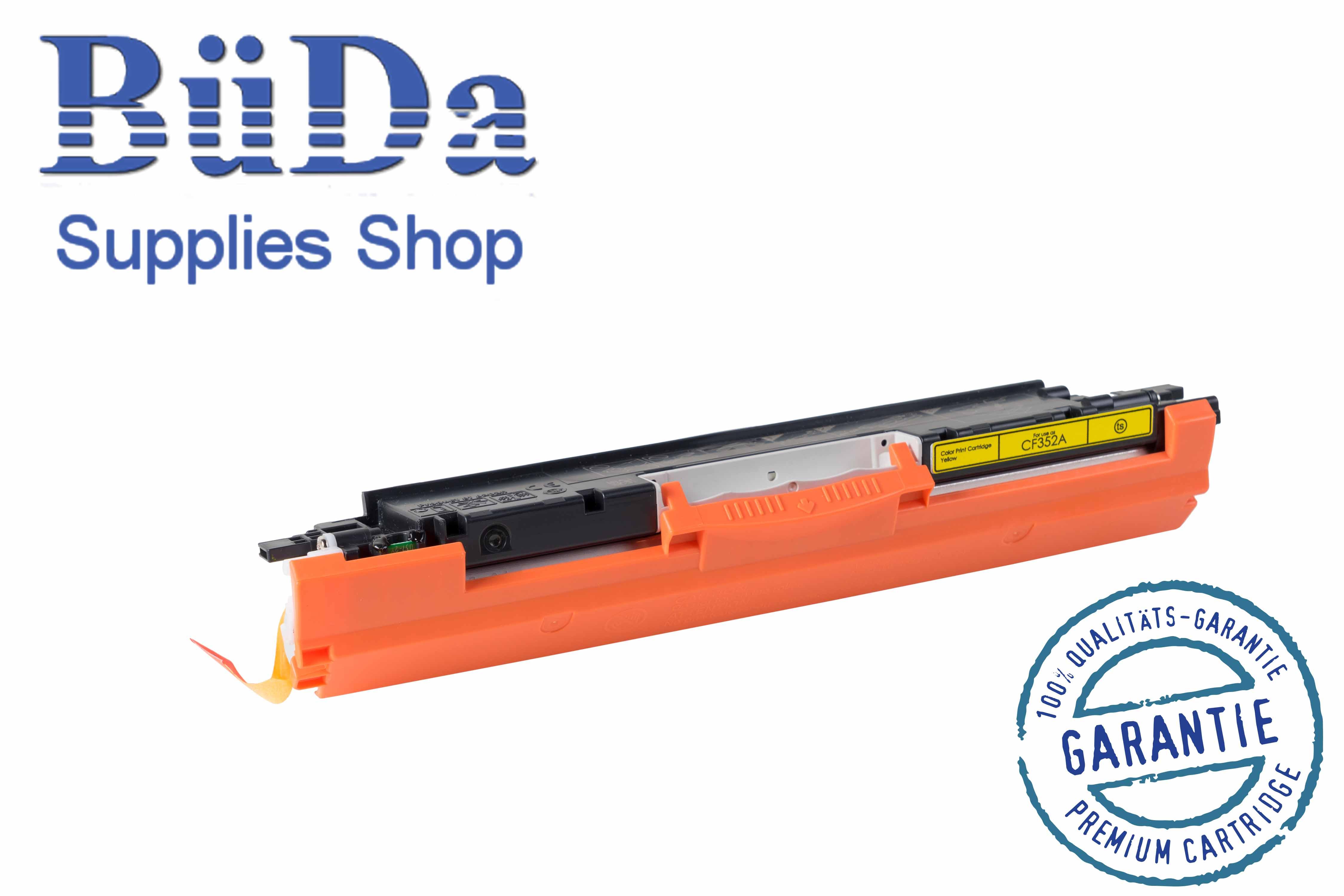 Toner-Modul komp. zu CF352A / 130A yellow 1000 Seiten