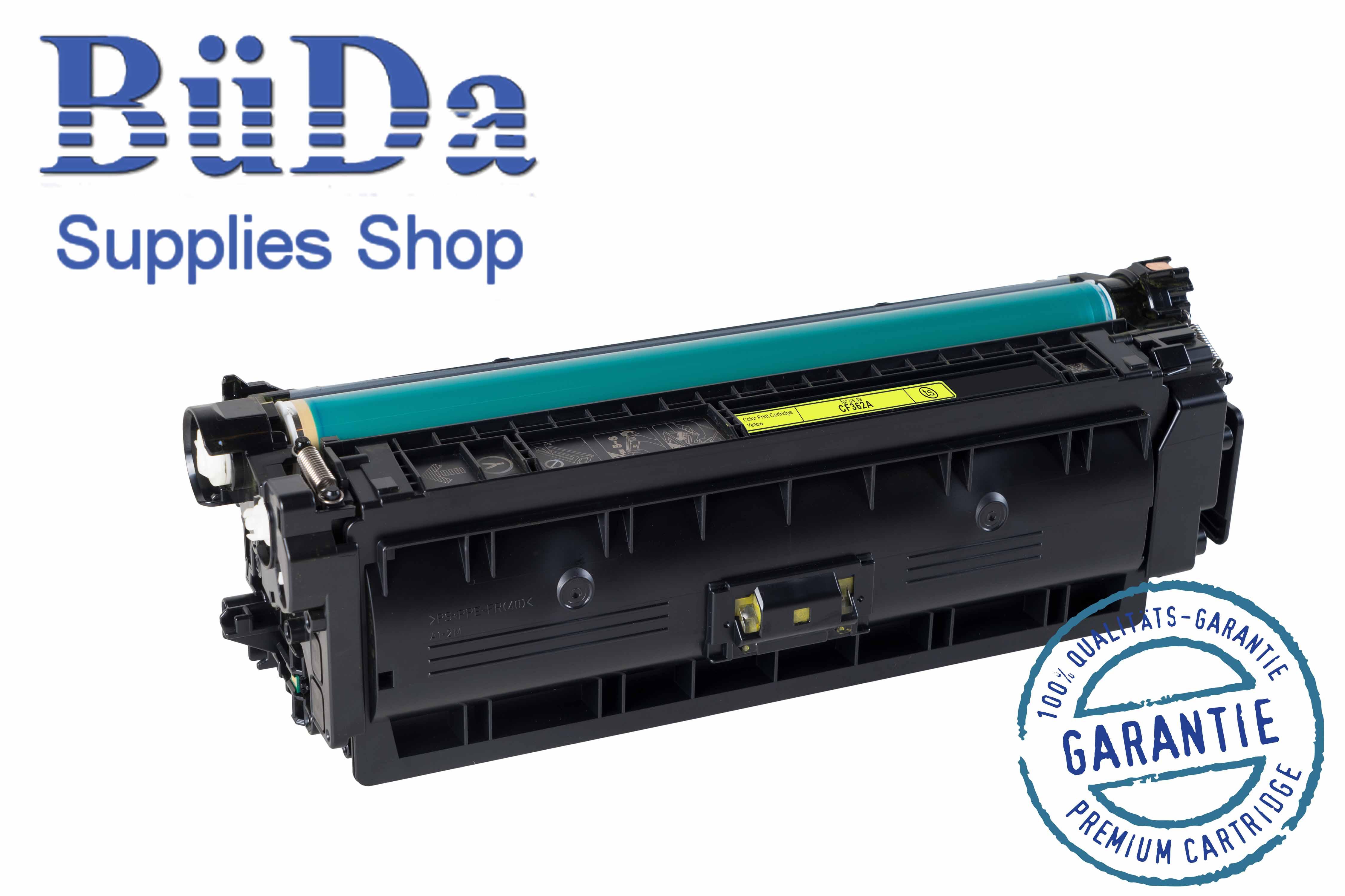 Toner-Modul komp. zu CF362A / CRG 040Y yellow 5000 Seiten