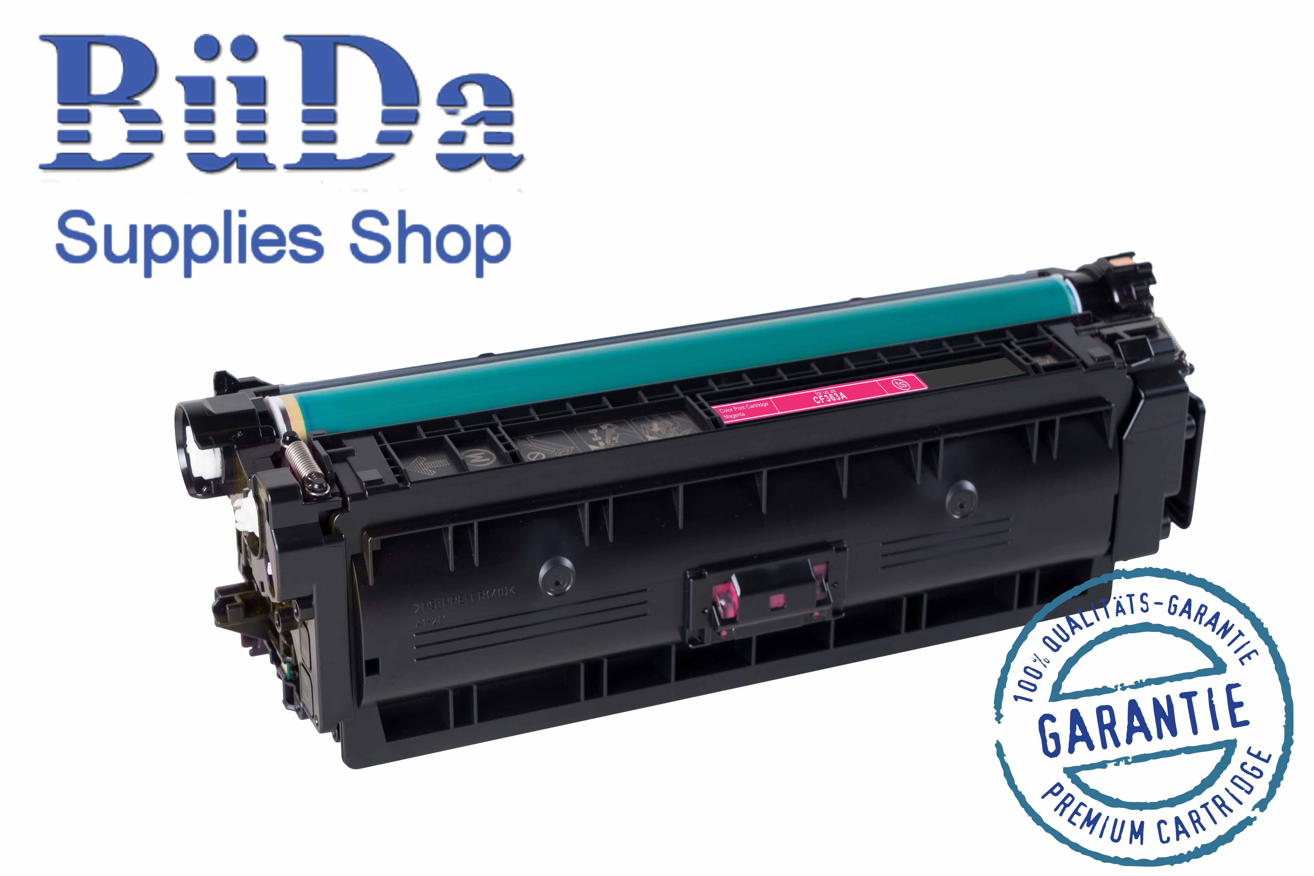 Toner-Modul komp. zu CF363A / CRG 040M magenta 5000 Seiten