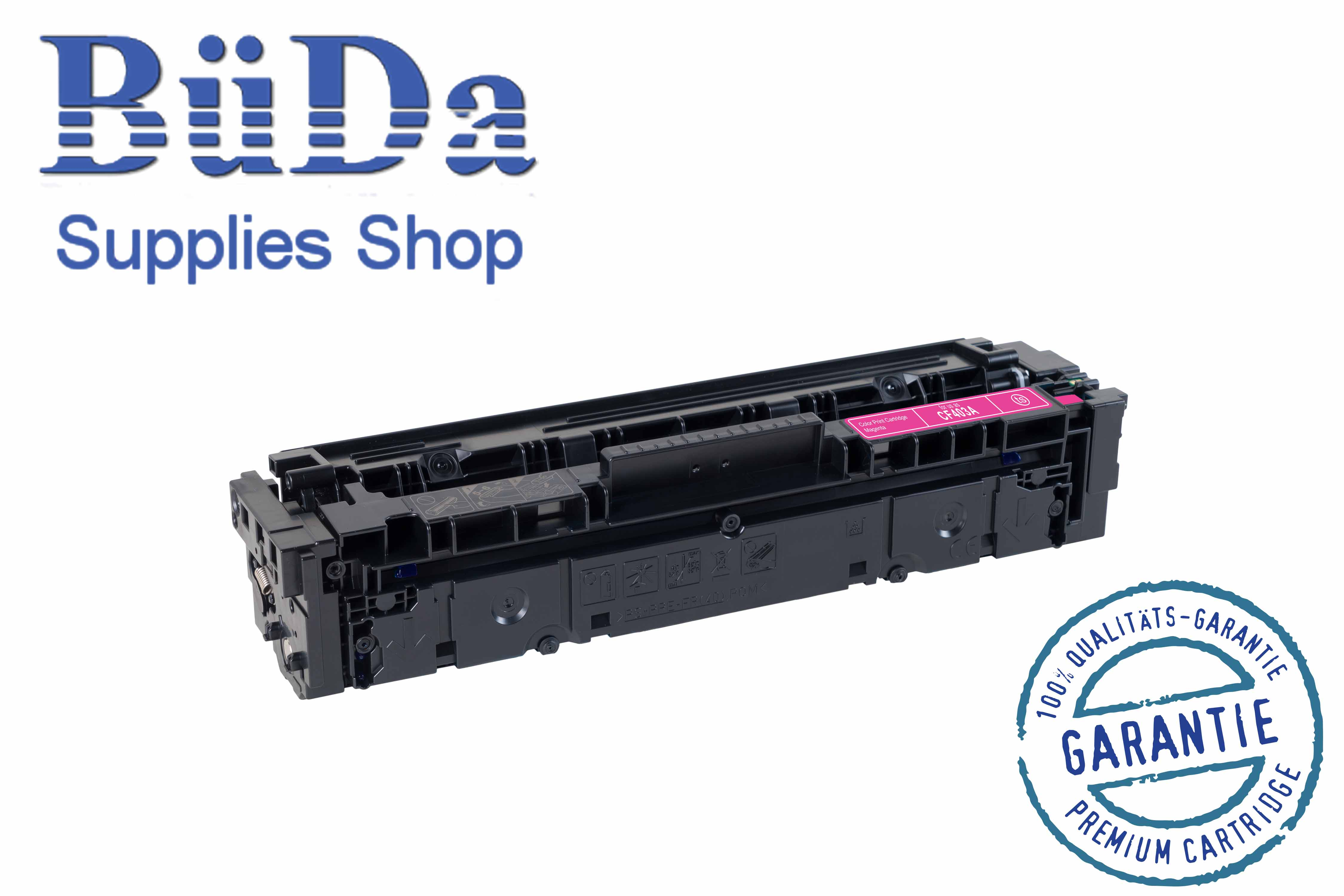 Toner-Modul komp. zu CF403A / CRG 045M magenta 1400 Seiten
