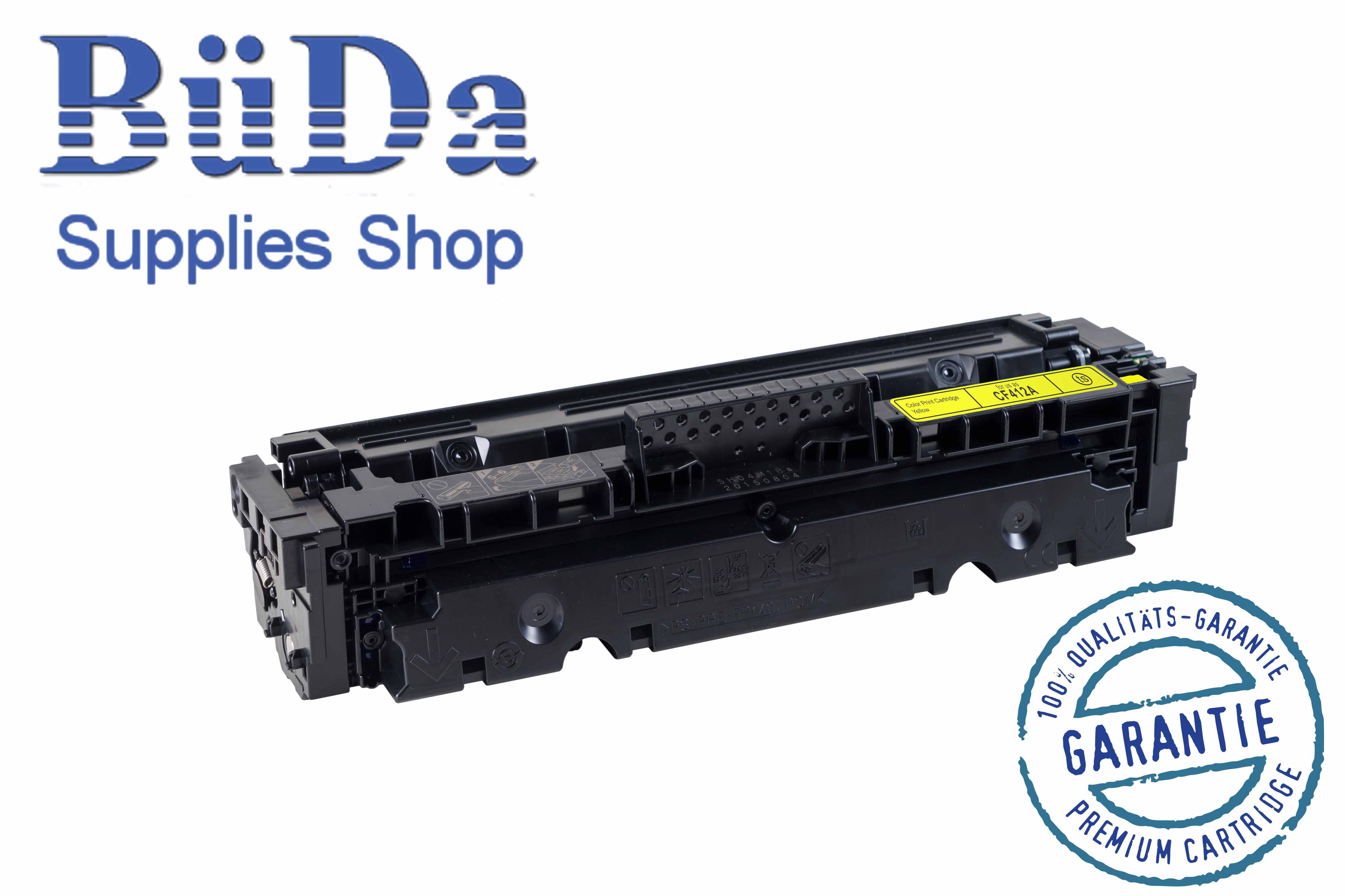 Toner-Modul komp. zu CF412A / CRG 046Y yellow 2300 Seiten
