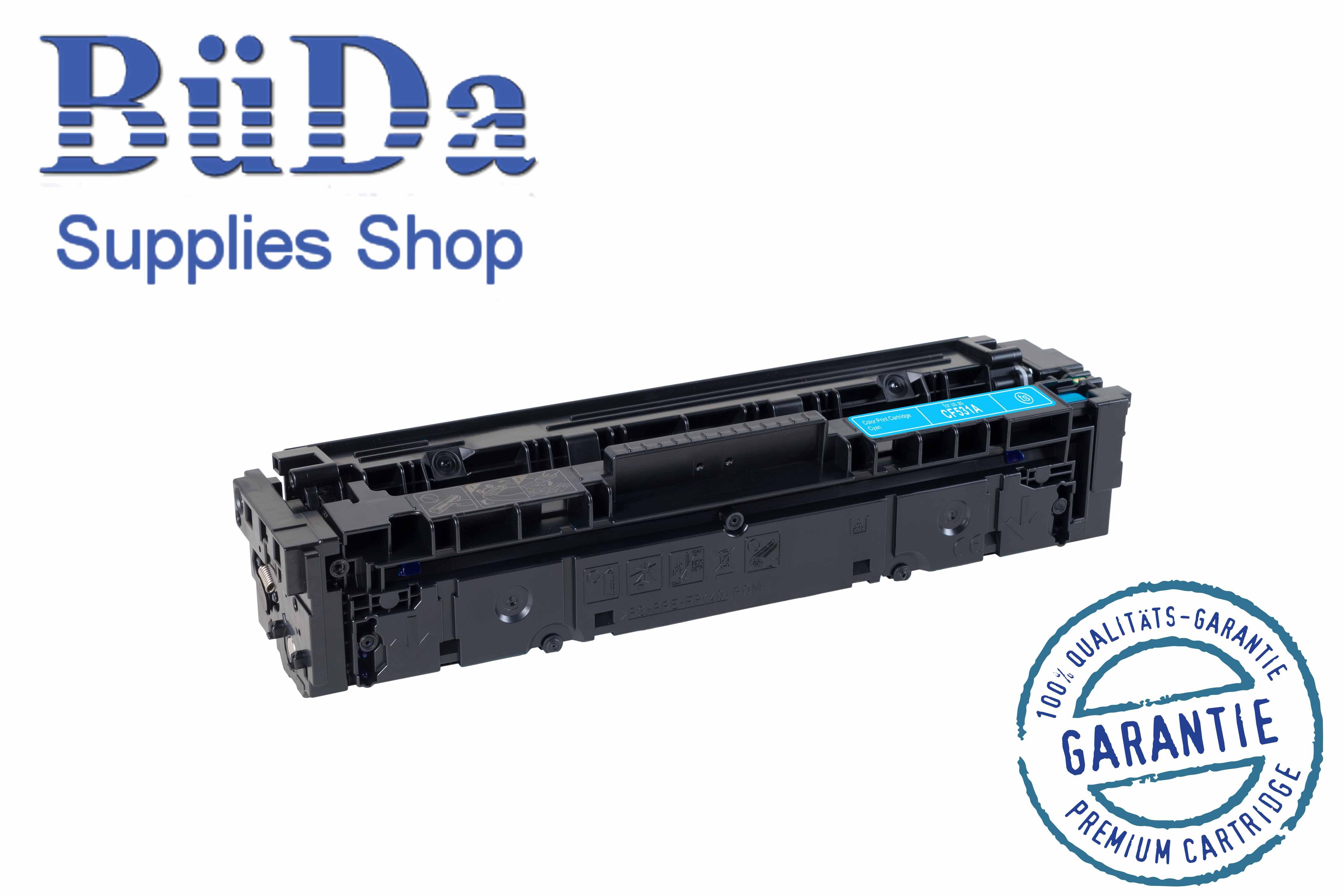 Toner-Modul komp. zu CF531A / 205A cyan 900 Seiten