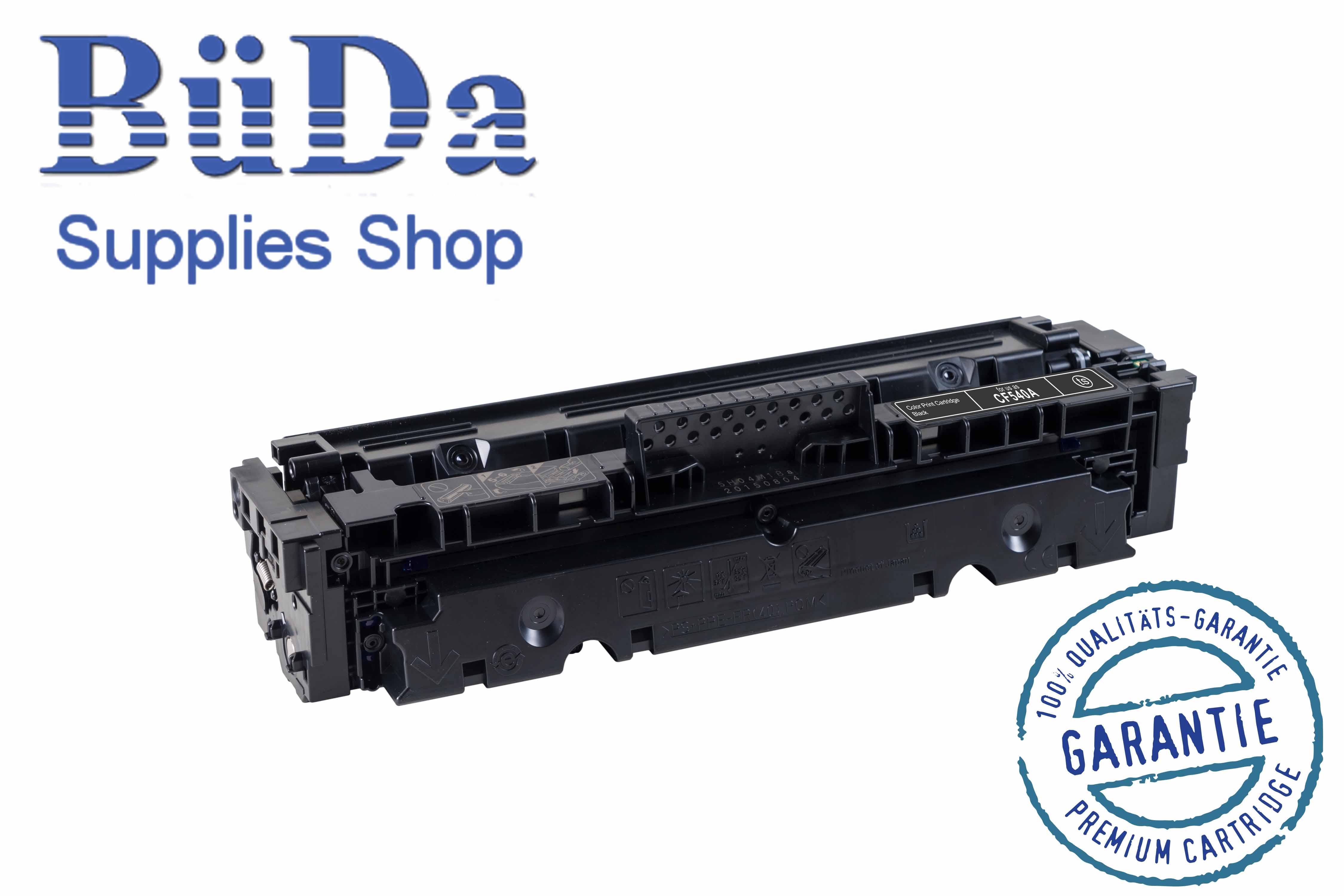 Toner-Modul komp. zu CF540A / 203A black 1400 Seiten