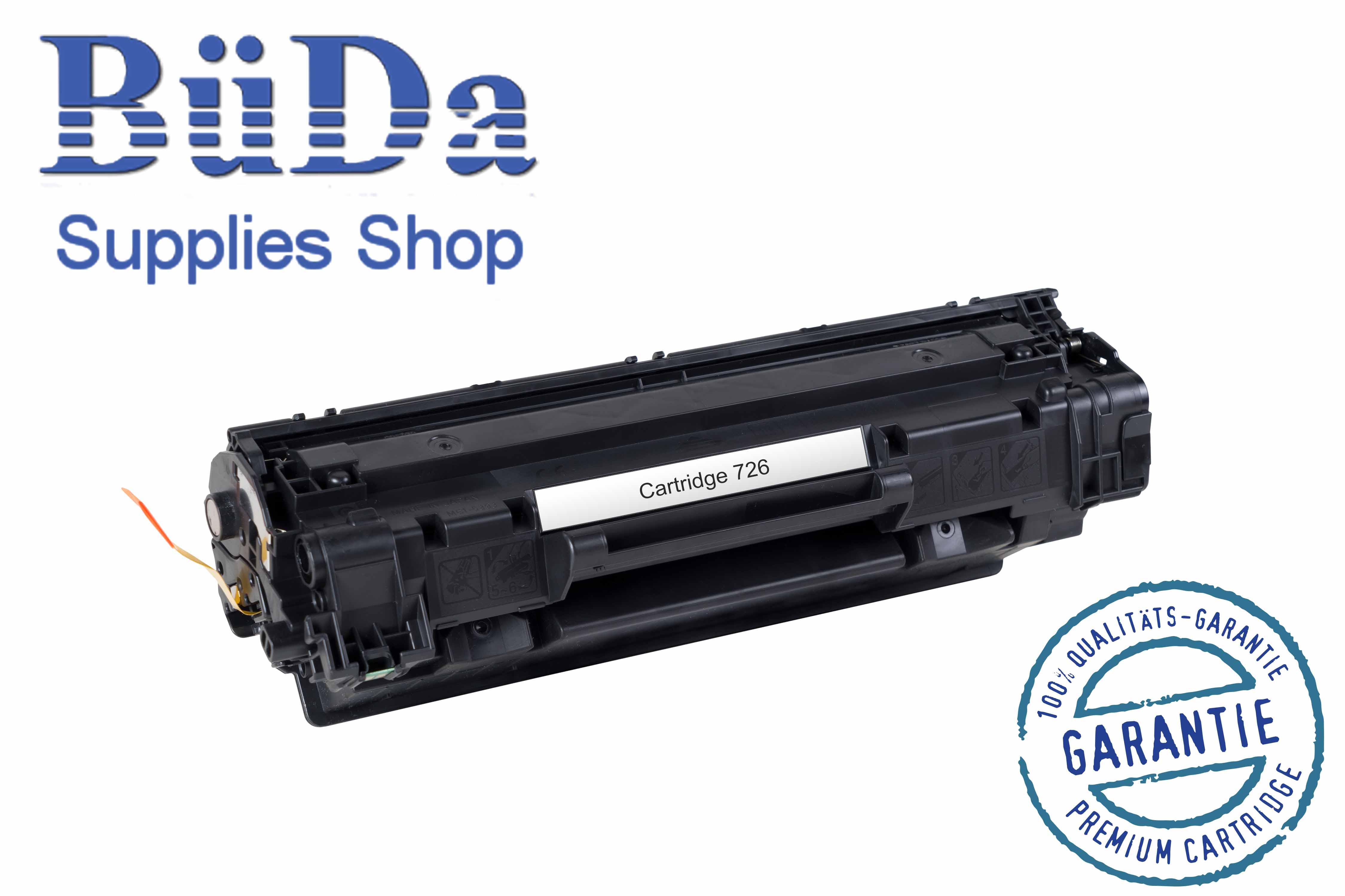 Toner-Modul komp. zu Cartridge 726 black 2100 Seiten