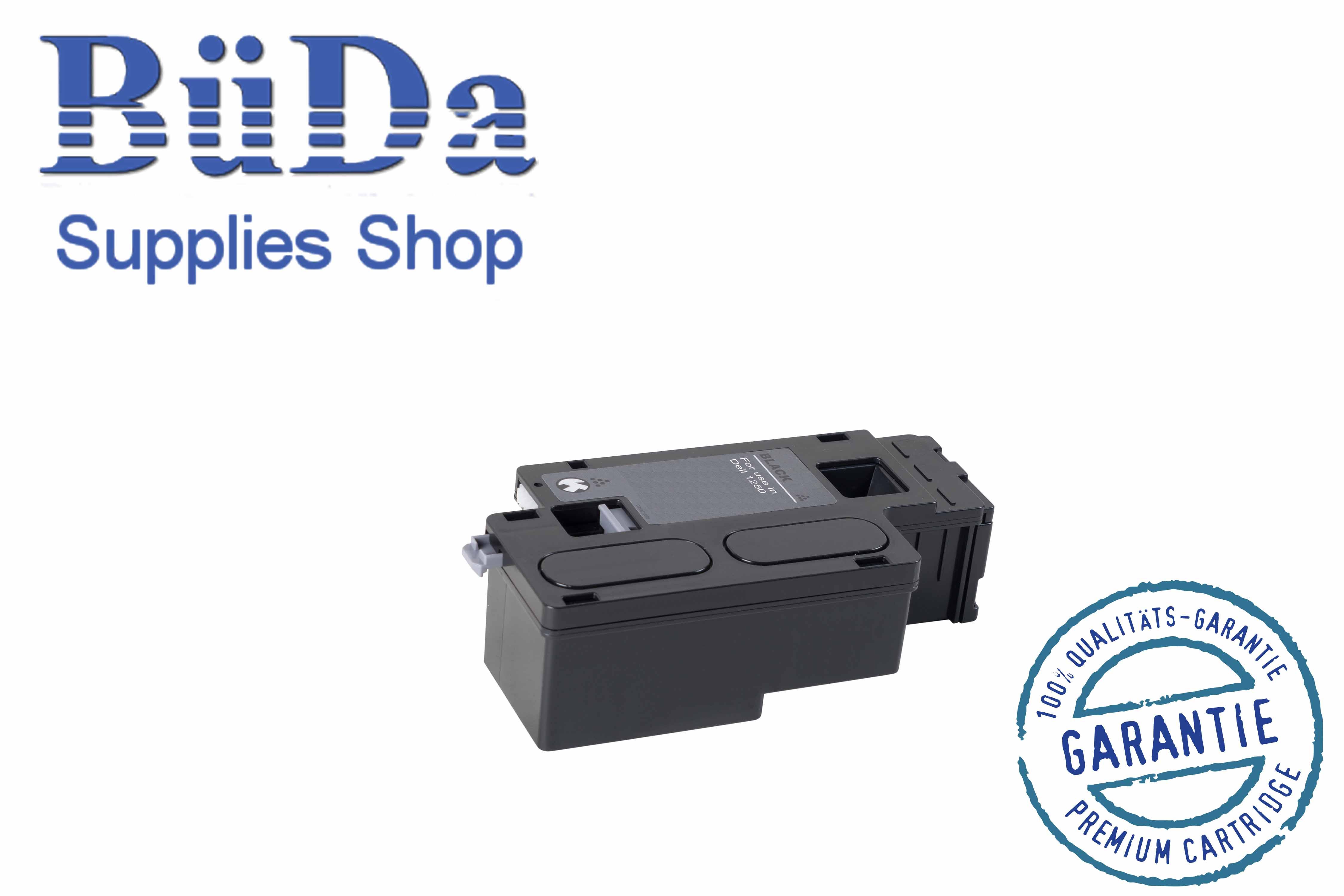 Toner-Modul komp. zu Dell 1250 black 2200 Seiten