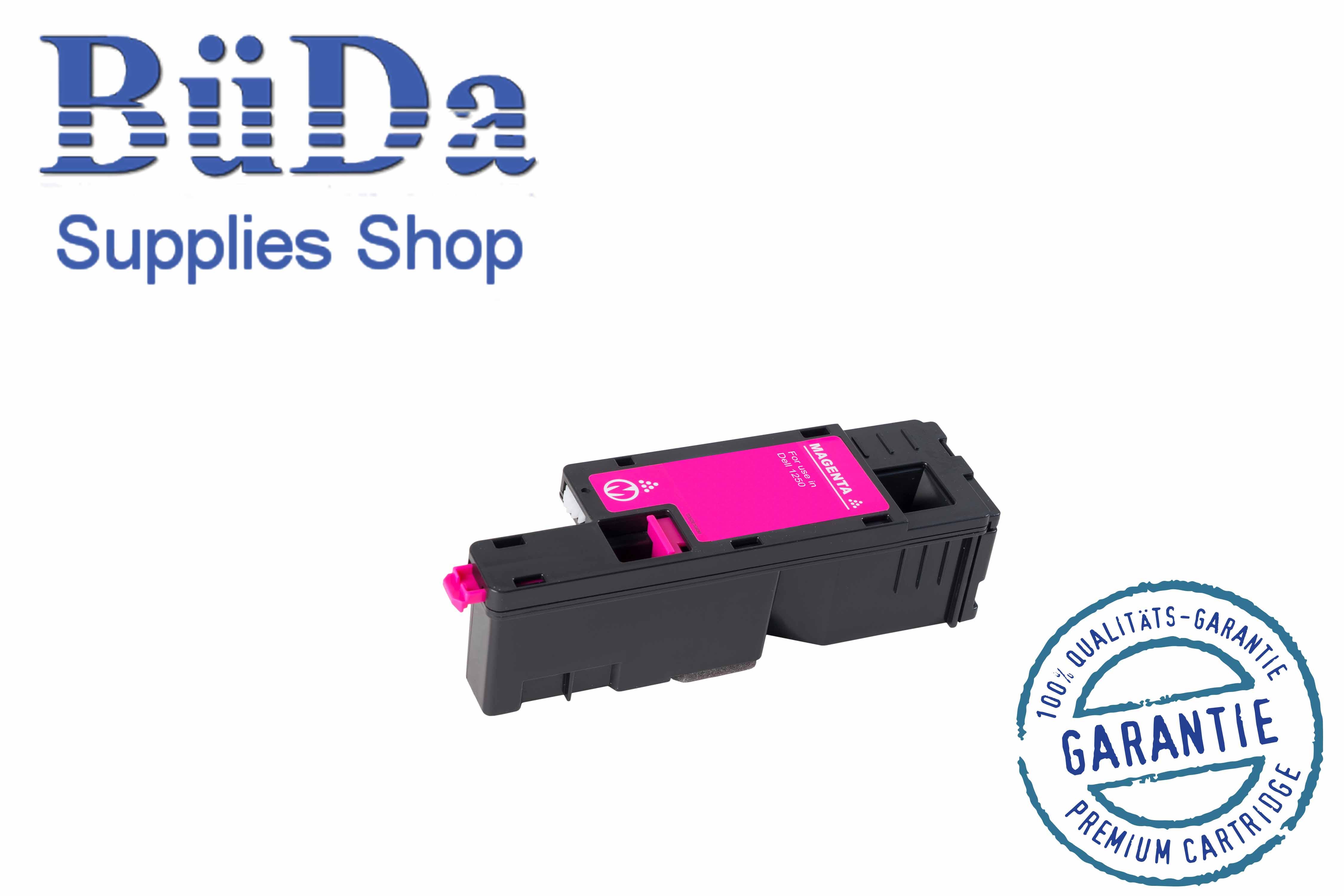 Toner-Modul komp. zu Dell 1250 magenta 1400 Seiten