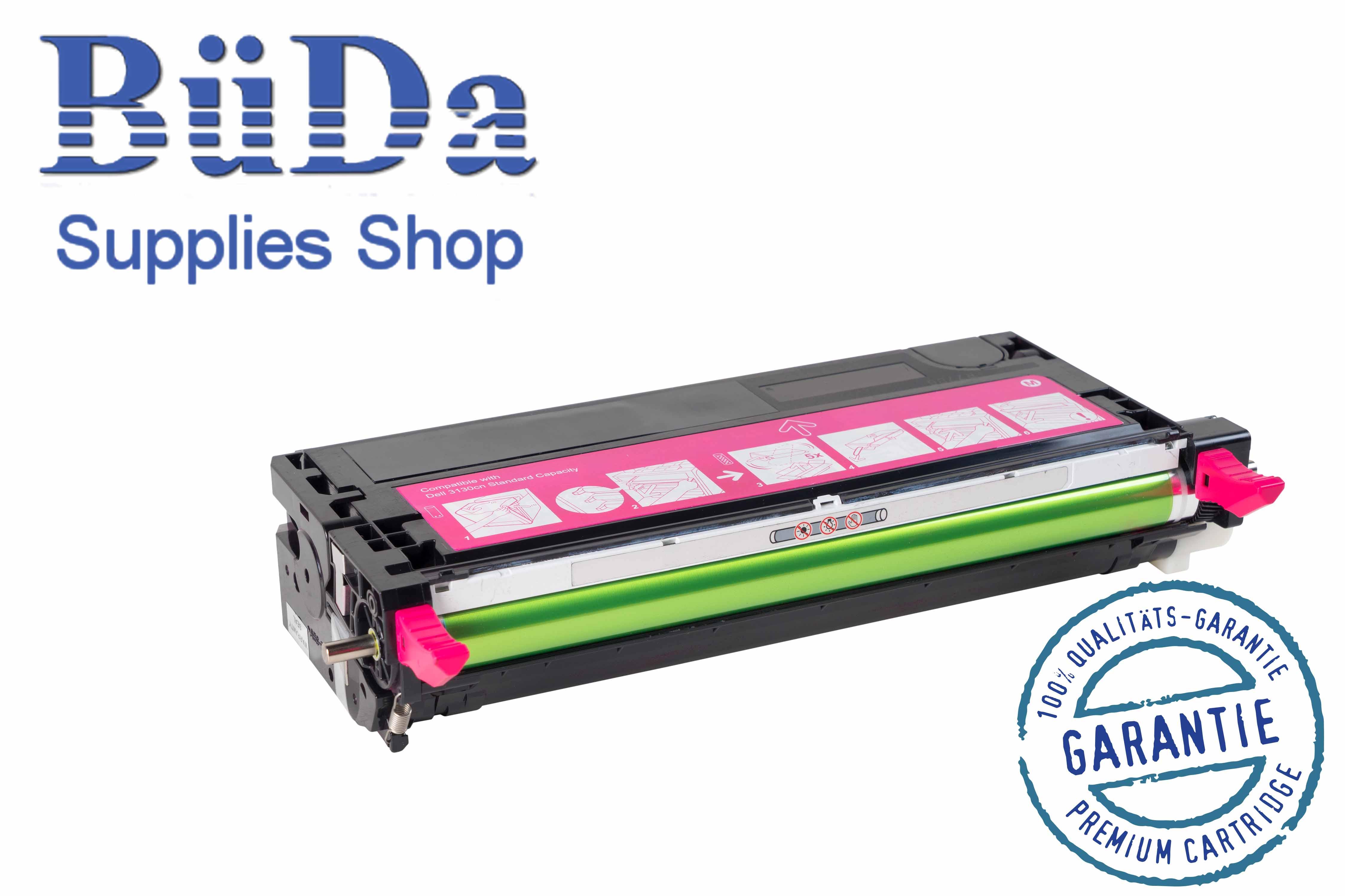 Toner-Modul komp. zu Dell 3130 magenta 9000 Seiten