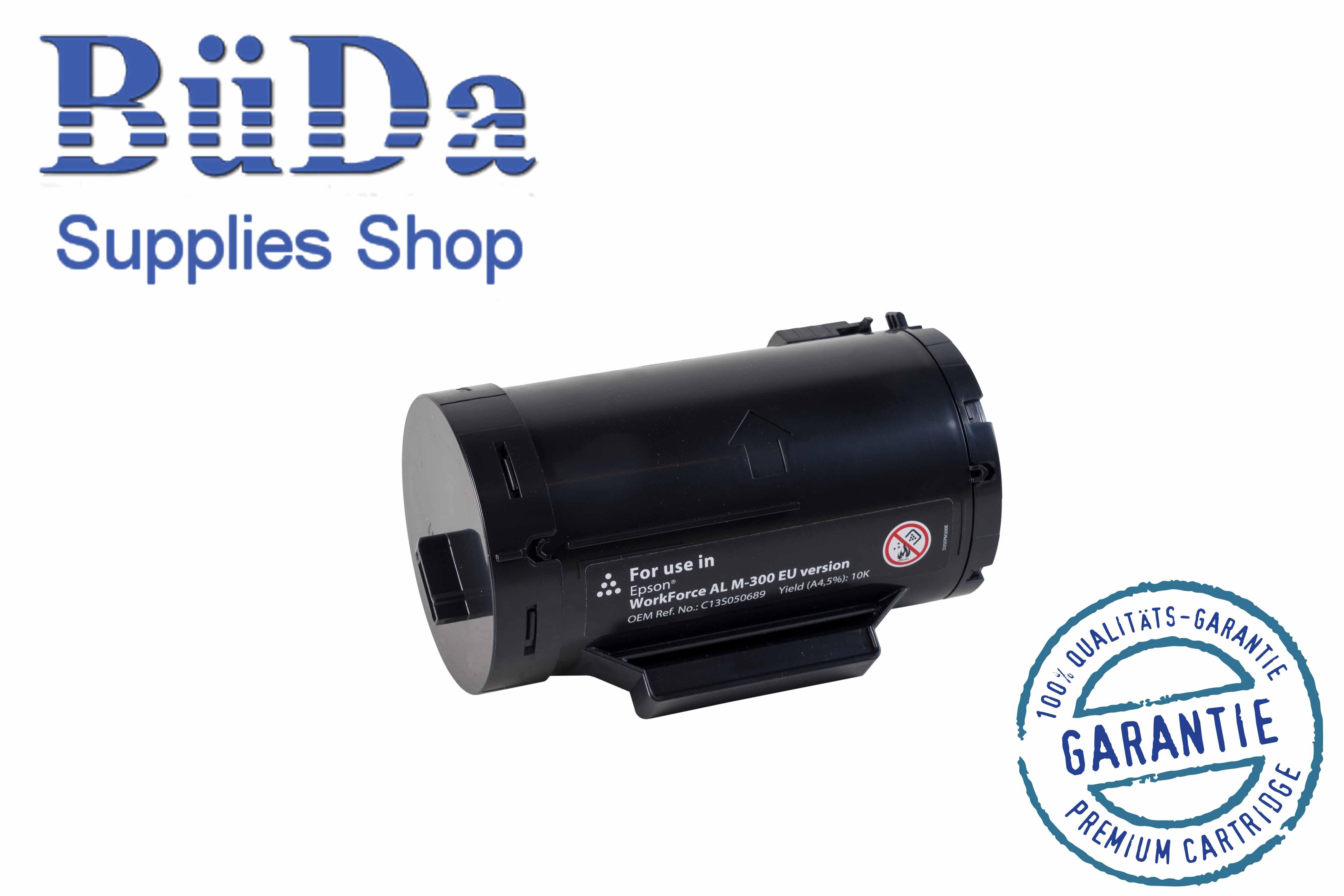 Toner-Modul komp. zu Epson AL-M300/MX300 black 10000 Seiten