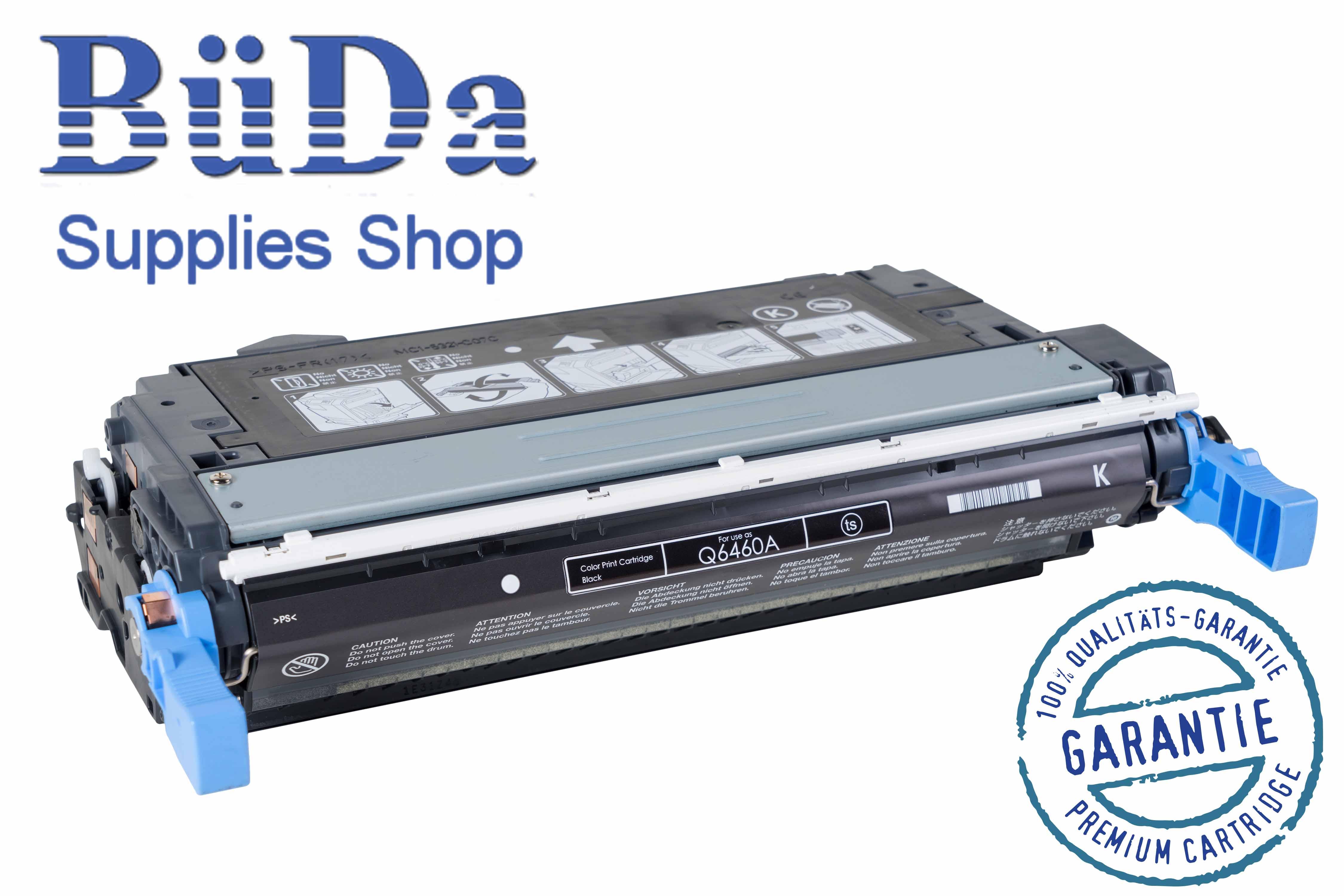 Toner-Modul komp. zu Q6460A / 644A black 12000 Seiten