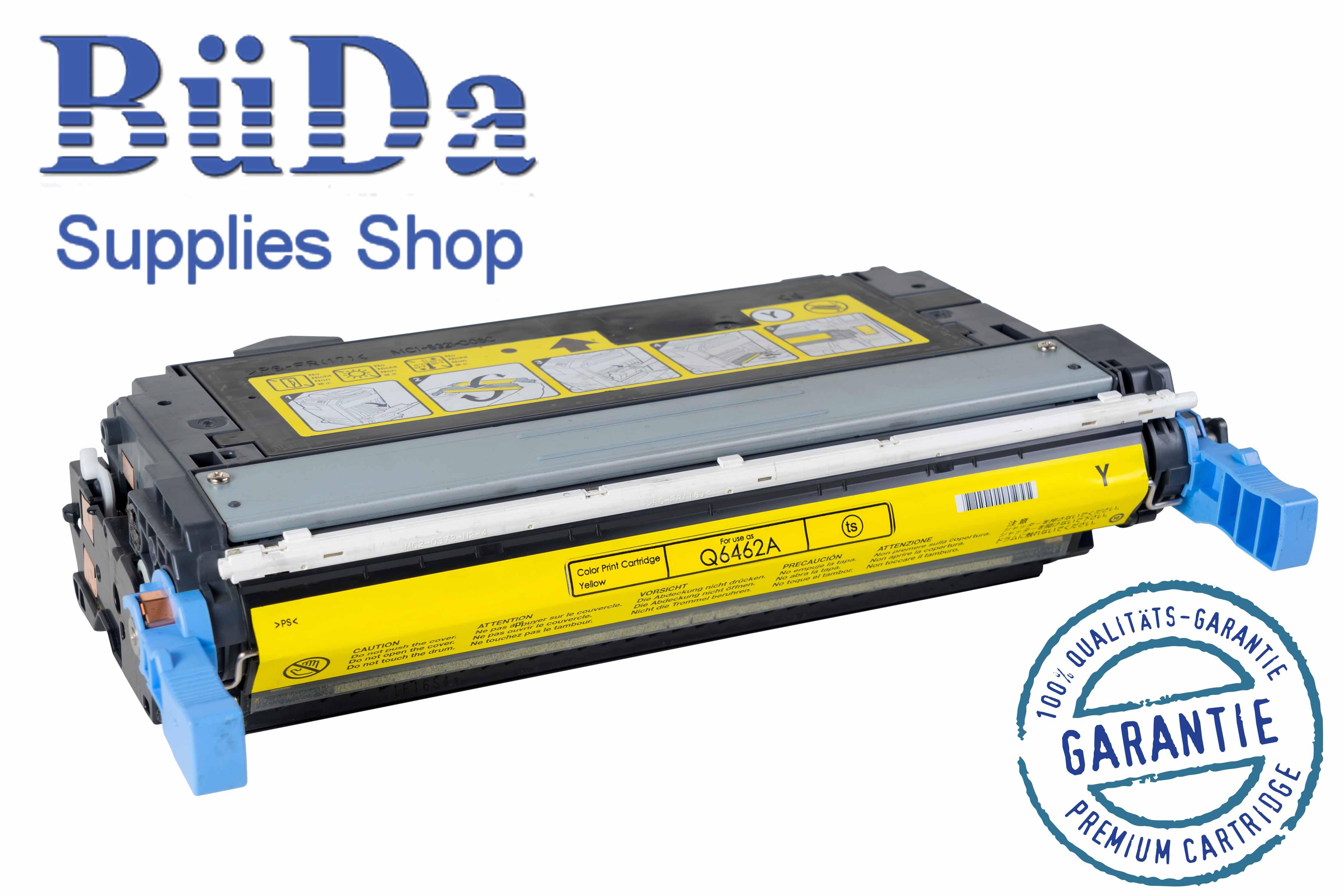 Toner-Modul komp. zu Q6462A / 644A yellow 12000 Seiten