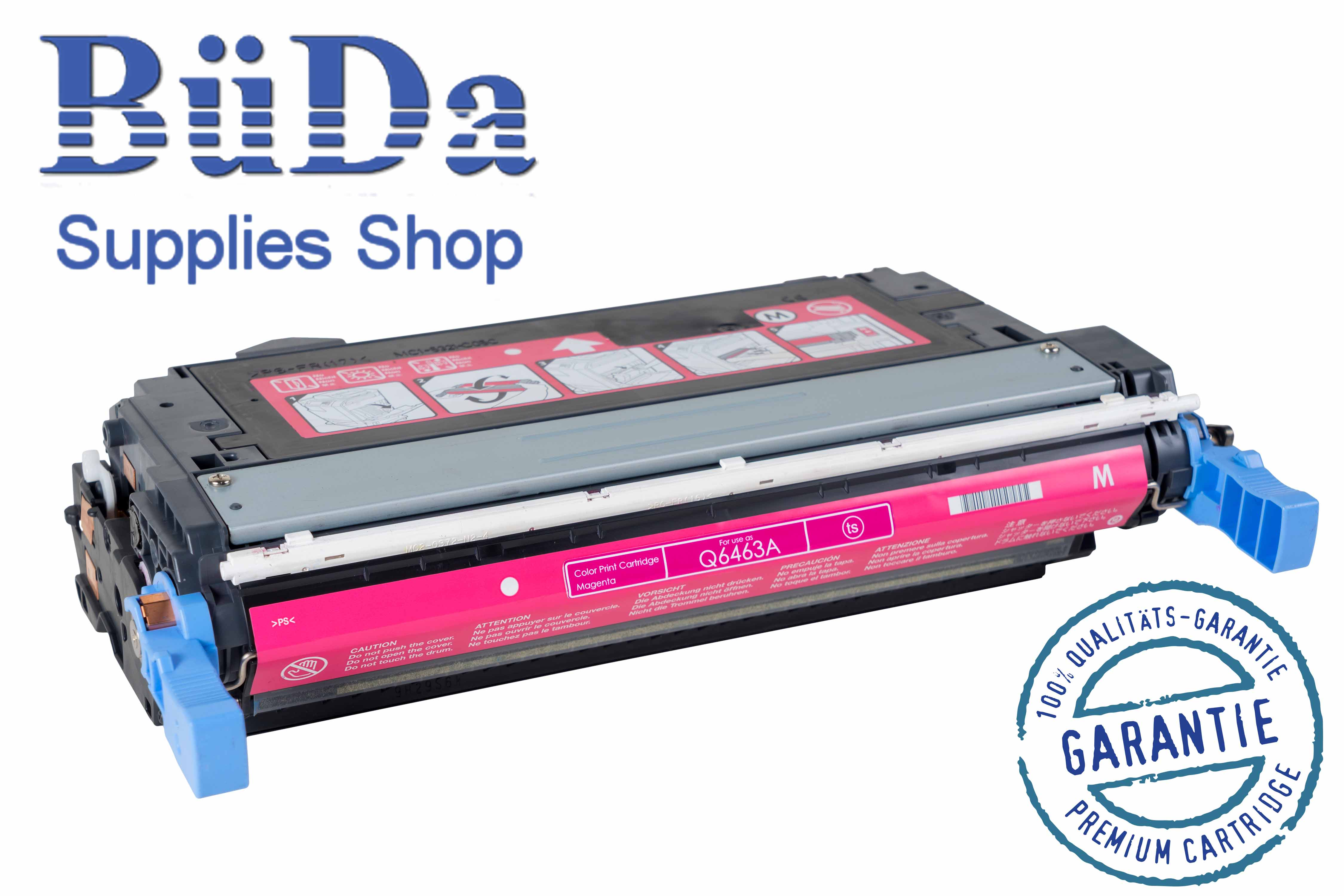 Toner-Modul komp. zu Q6463A / 644A magenta 12000 Seiten