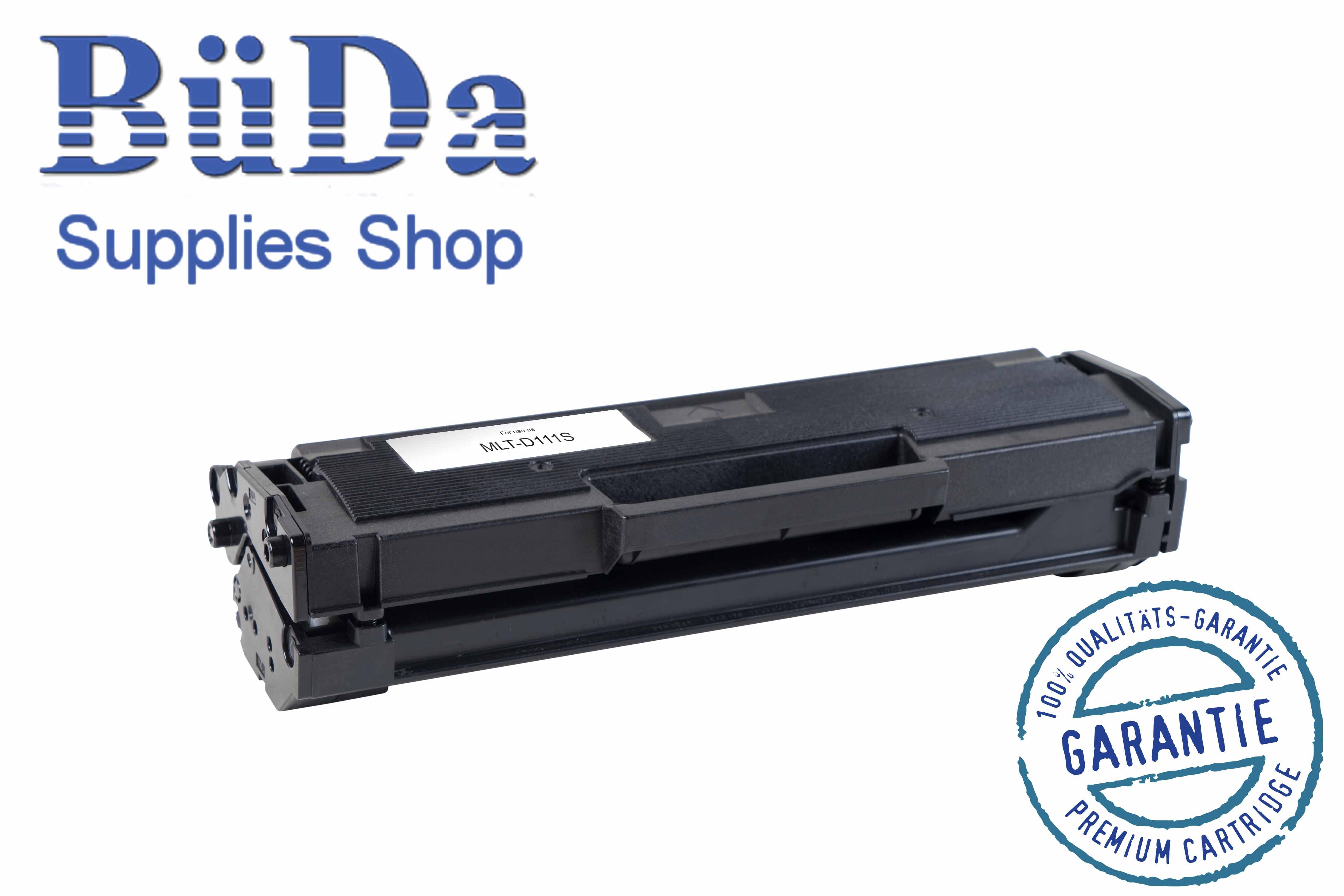 Toner-Modul komp. zu MLT-D111S black 1000 Seiten