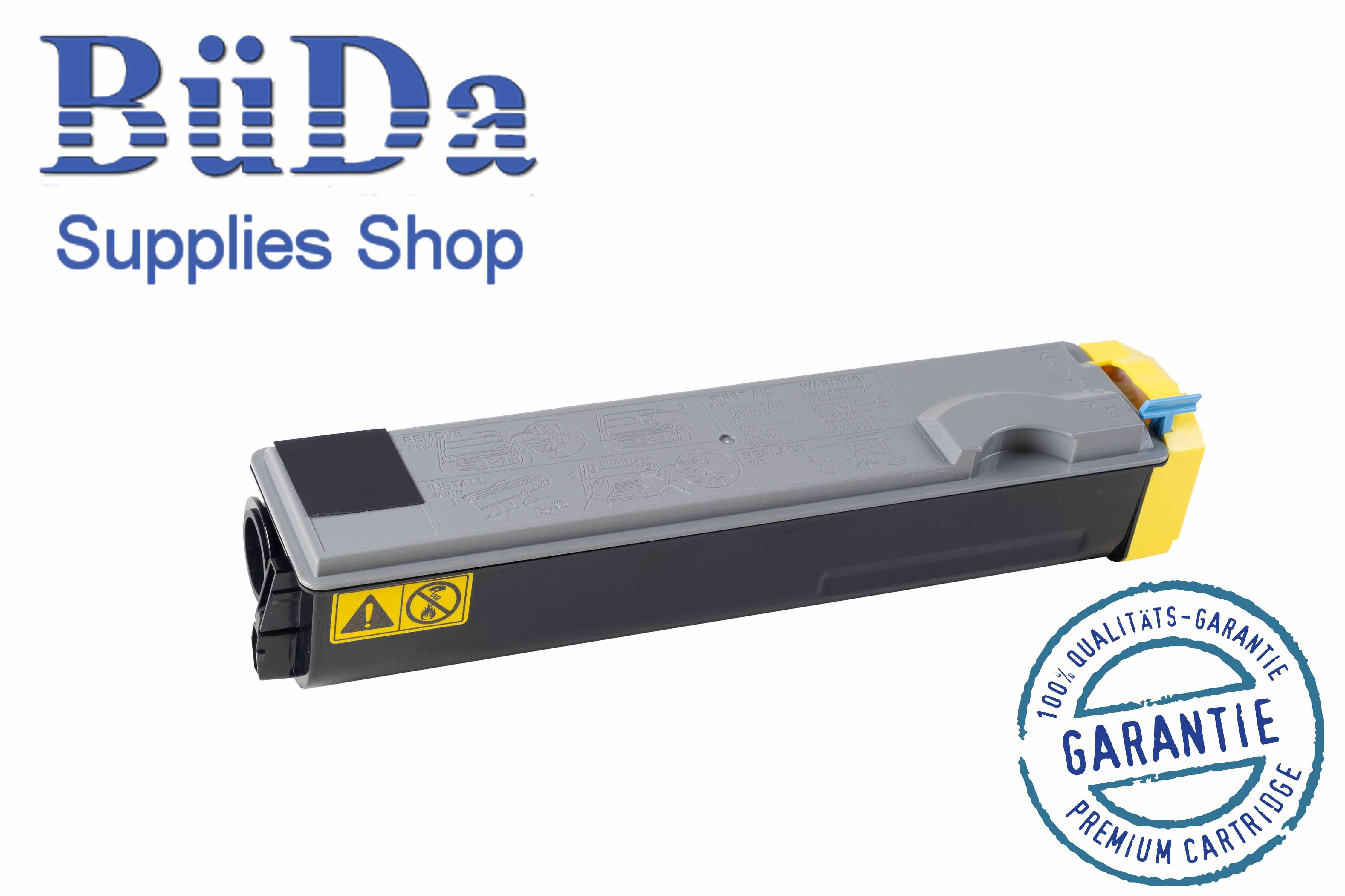 Toner-Modul komp. zu TK-510Y yellow 8000 Seiten