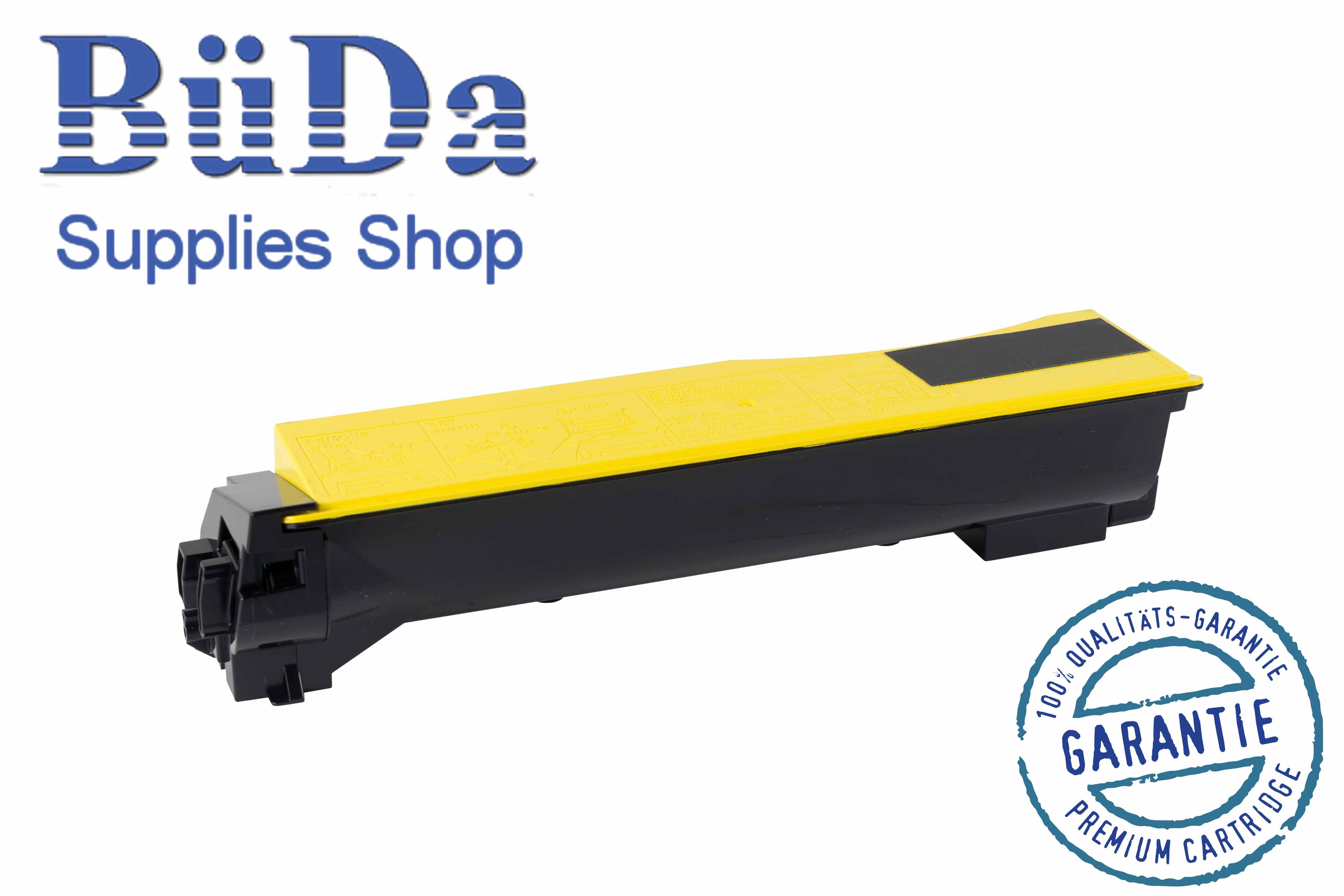 Toner-Modul komp. zu TK-550Y yellow 6000 Seiten