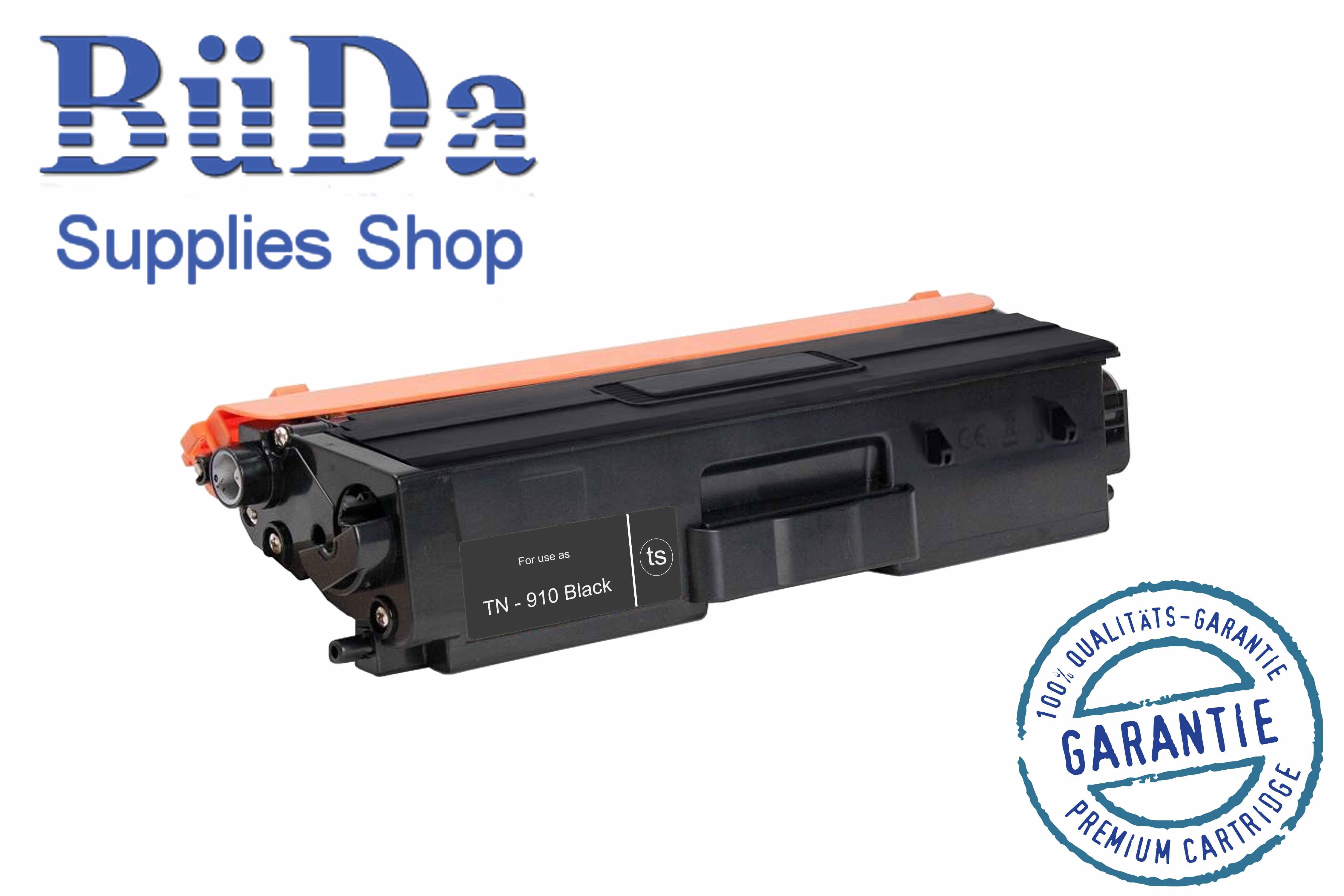 Toner-Modul komp. zu TN-910BK black 9000 Seiten