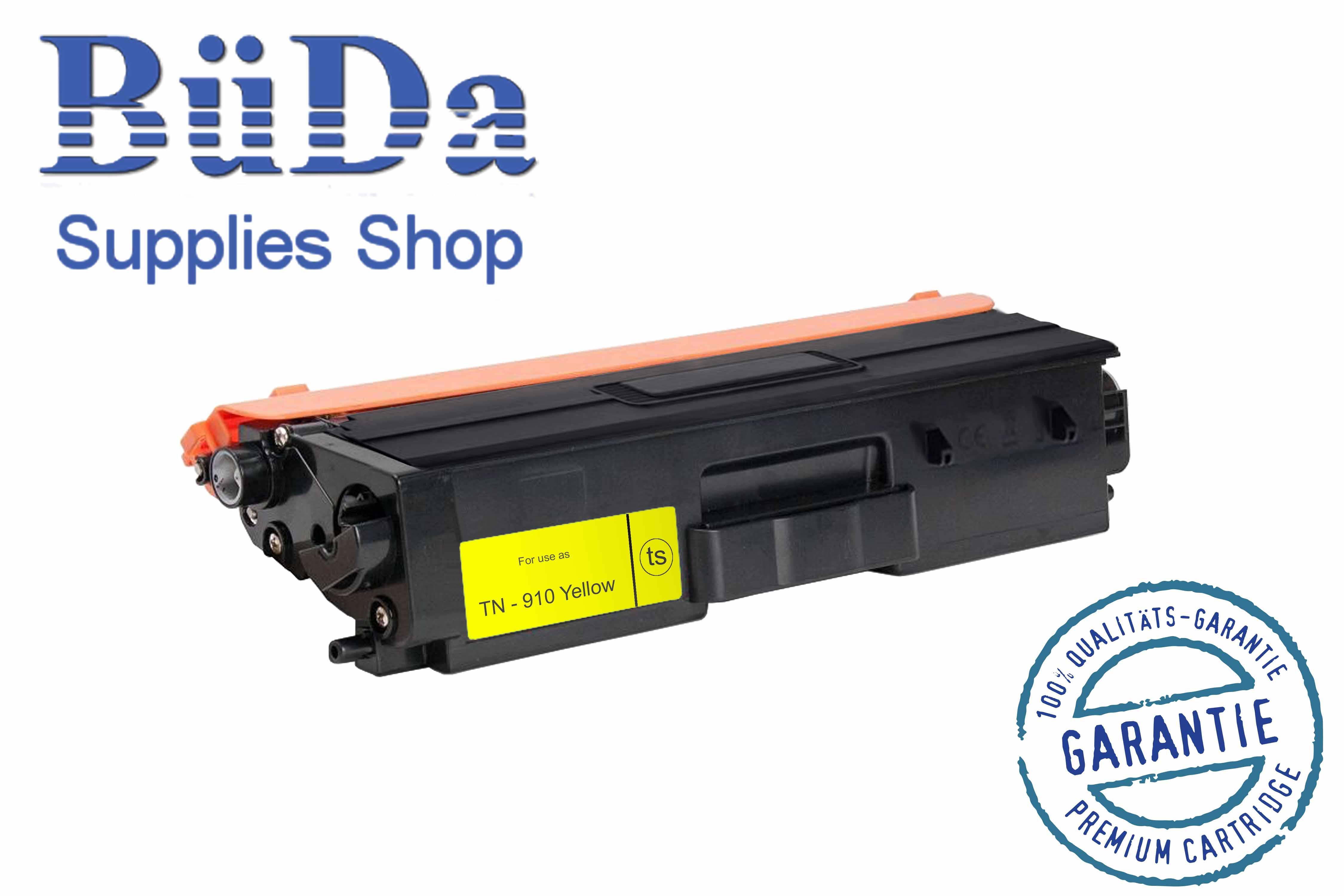 Toner-Modul komp. zu TN-910Y yellow 9000 Seiten