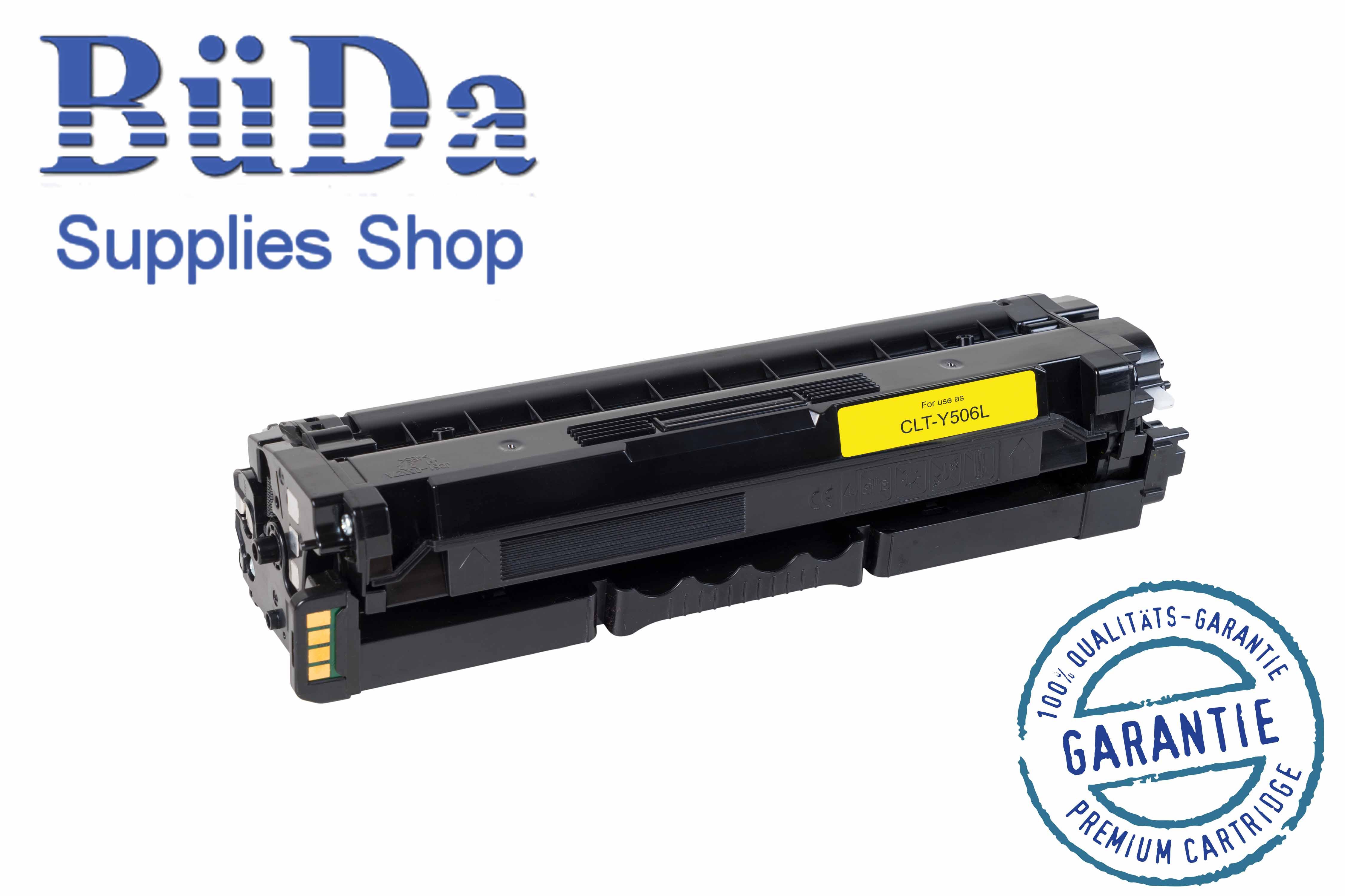 Toner-Modul komp. zu CLT-Y506L yellow 3500 Seiten